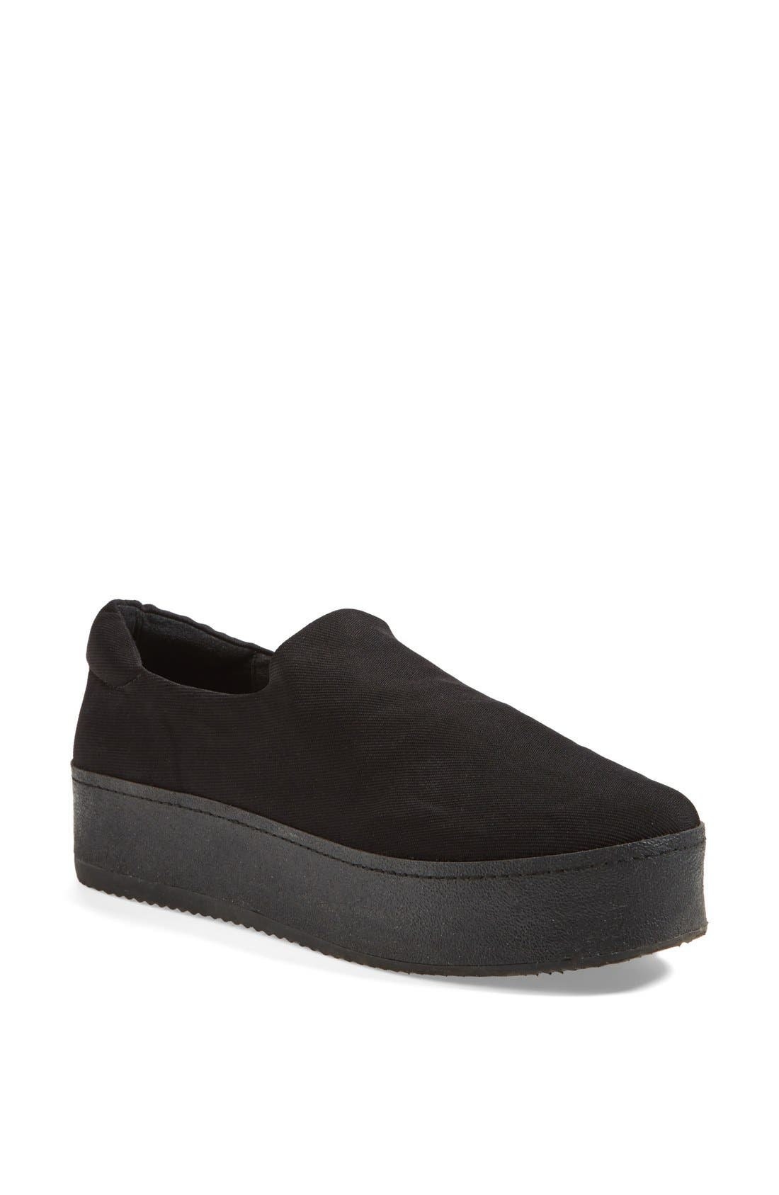 Alternate Image 1 Selected - Opening Ceremony 'Grunge' Slip-On Platform Sneaker (Women)