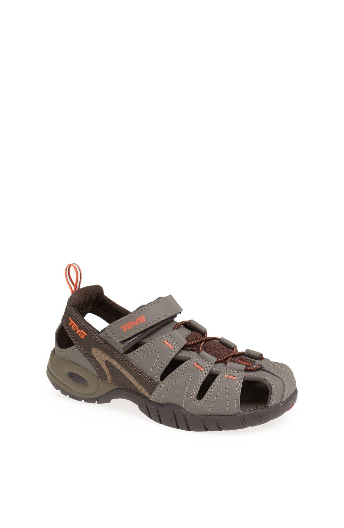 Alternate Image 1 Selected - Teva 'Dozer 3' Sandal (Toddler, Little Kid & Big Kid)