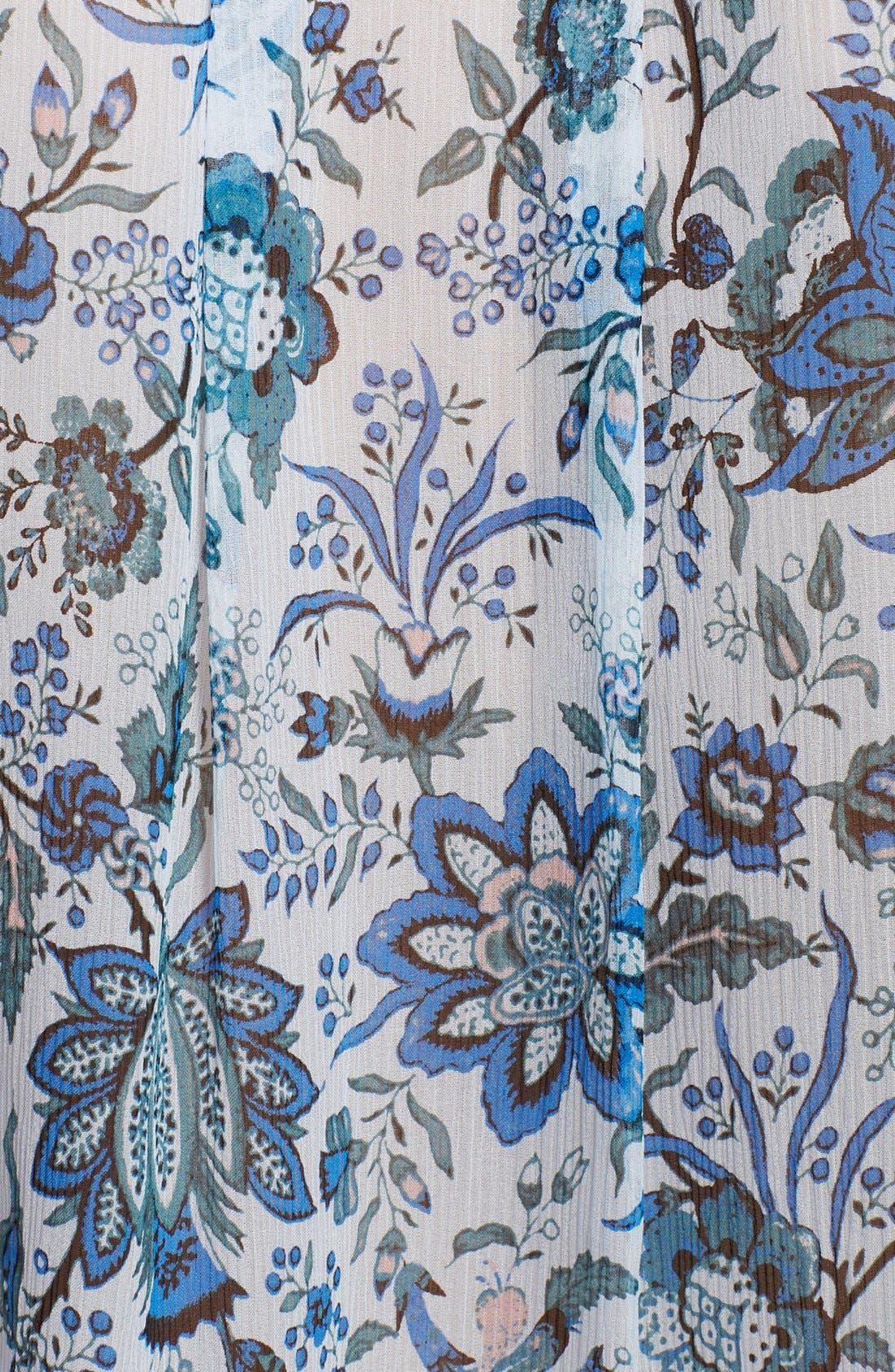 Alternate Image 3  - Rachel Zoe 'Magnolia' Lace-Up Print Silk Tunic