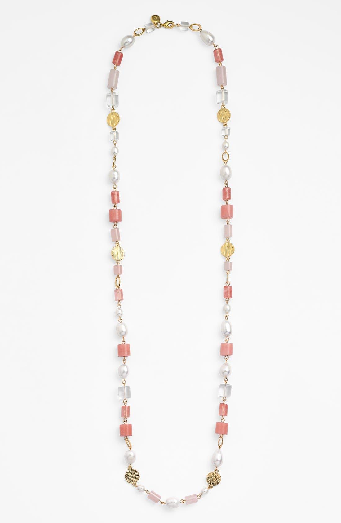 Alternate Image 2  - Lauren Ralph Lauren Long Bead Station Necklace