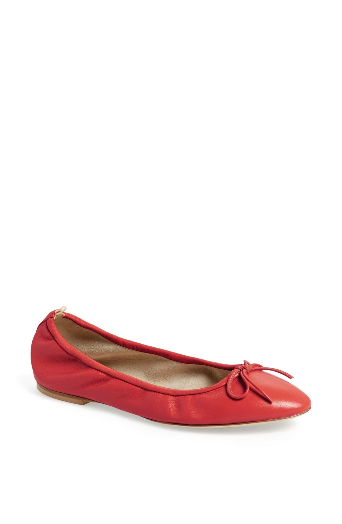 Main Image - SJP by Sarah Jessica Parker by Sarah Jessica Parker 'Gelsey' Nappa Leather Skimmer Flat