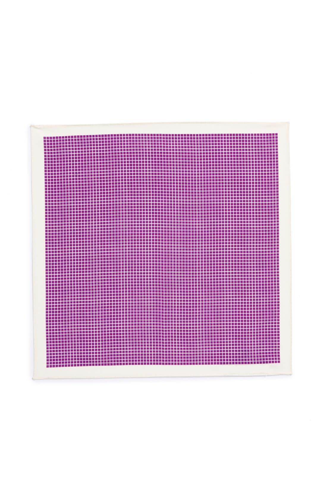 Alternate Image 2  - Ted Baker London Cotton & Silk Pocket Square