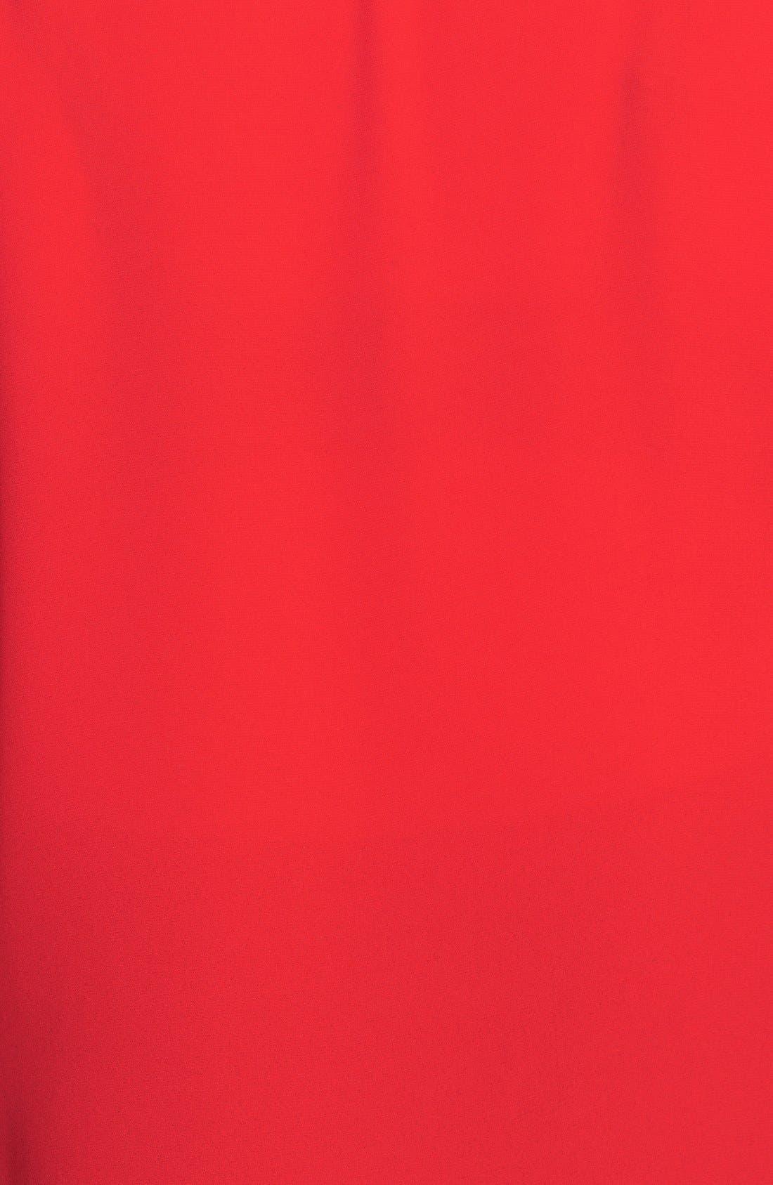 Alternate Image 3  - Vince Camuto Sleeveless Wrap Front Shirttail Blouse (Plus Size)