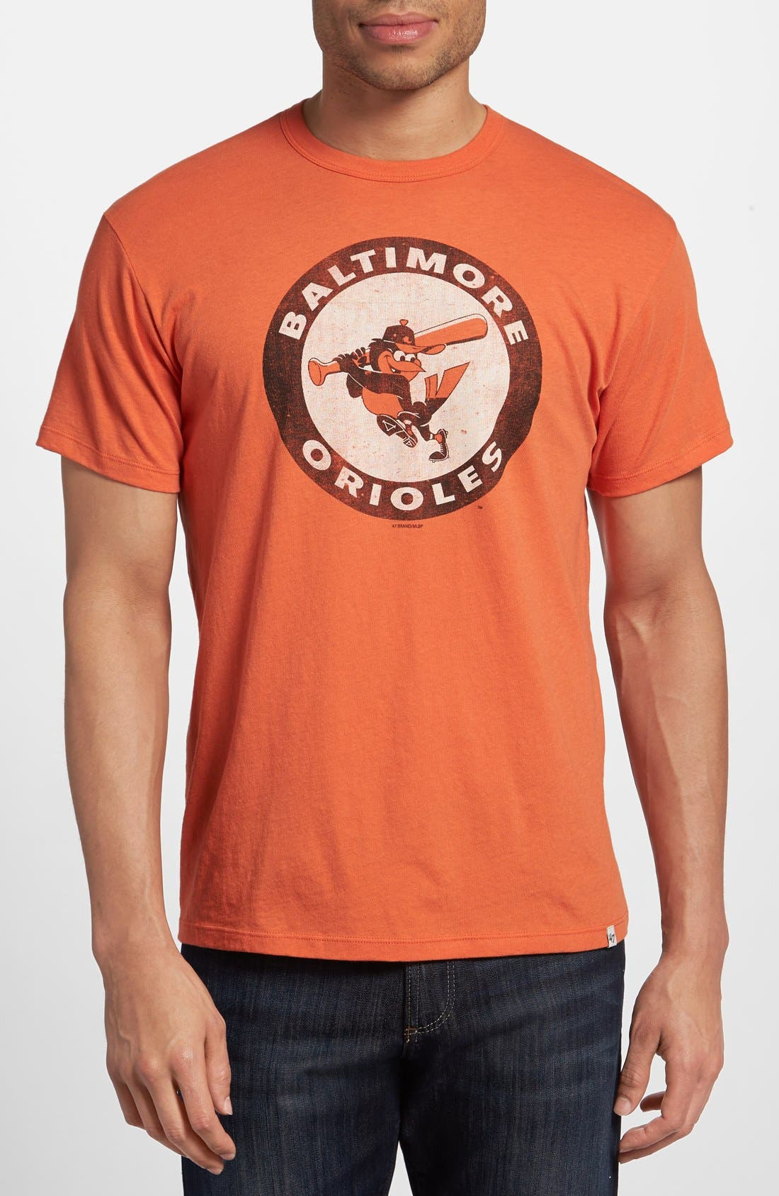 Main Image - 47 Brand 'Baltimore Orioles - Flanker' Graphic T-Shirt