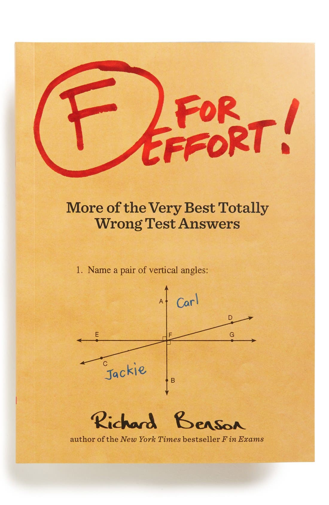 Alternate Image 1 Selected - 'F for Effort' Book