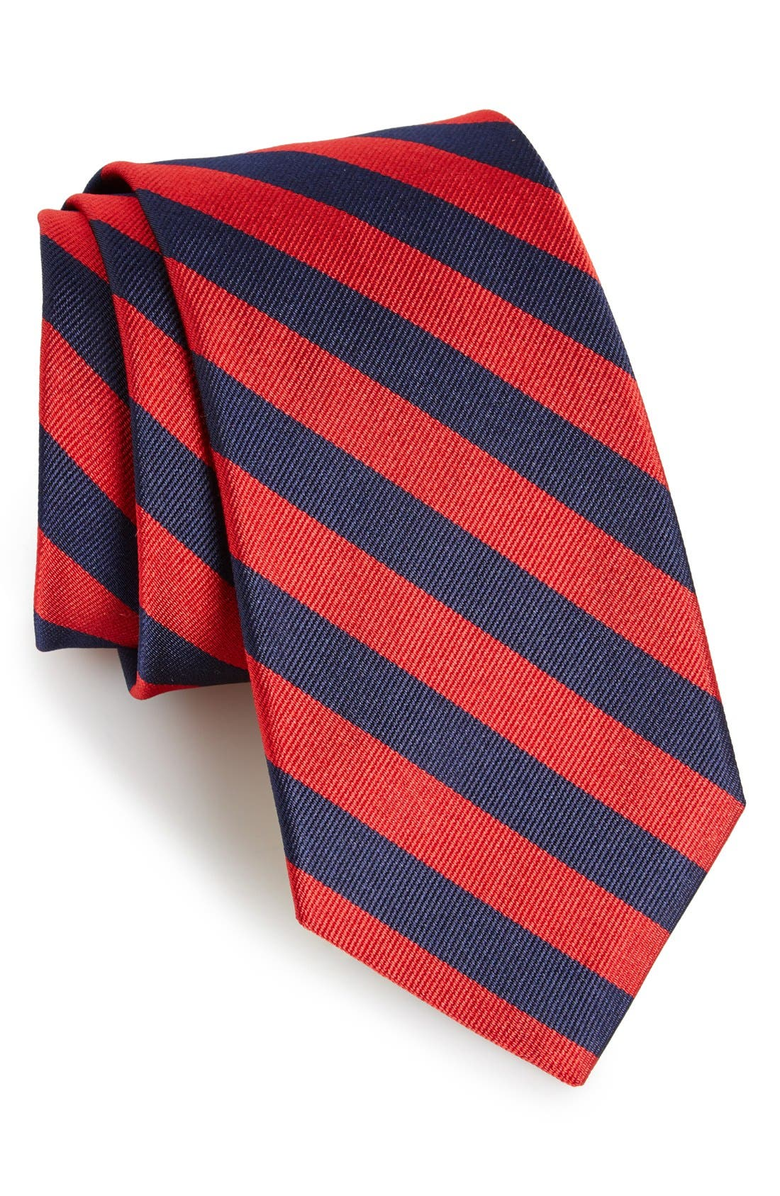Alternate Image 1 Selected - Gitman Stripe Silk Tie