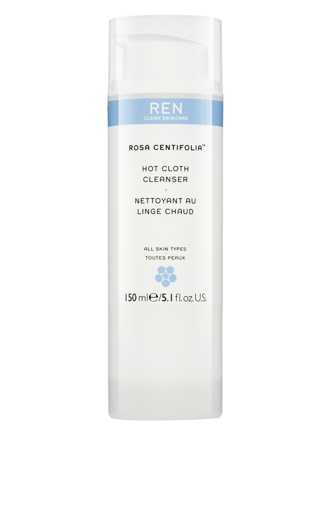 REN 'Rosa Centifolia™' Hot Cloth Cleanser