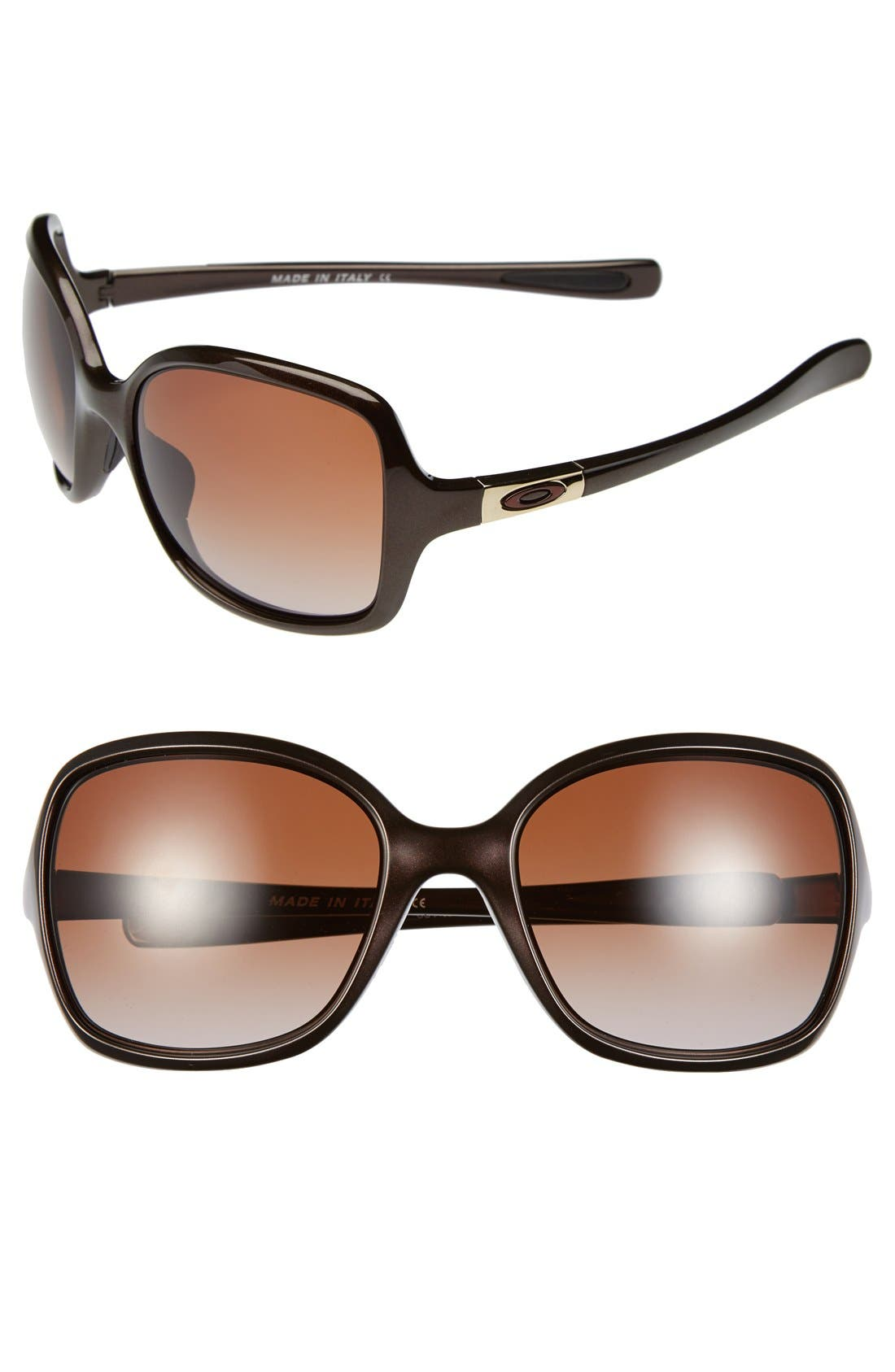 Alternate Image 1 Selected - Oakley 'Obsessed' 58mm Sunglasses