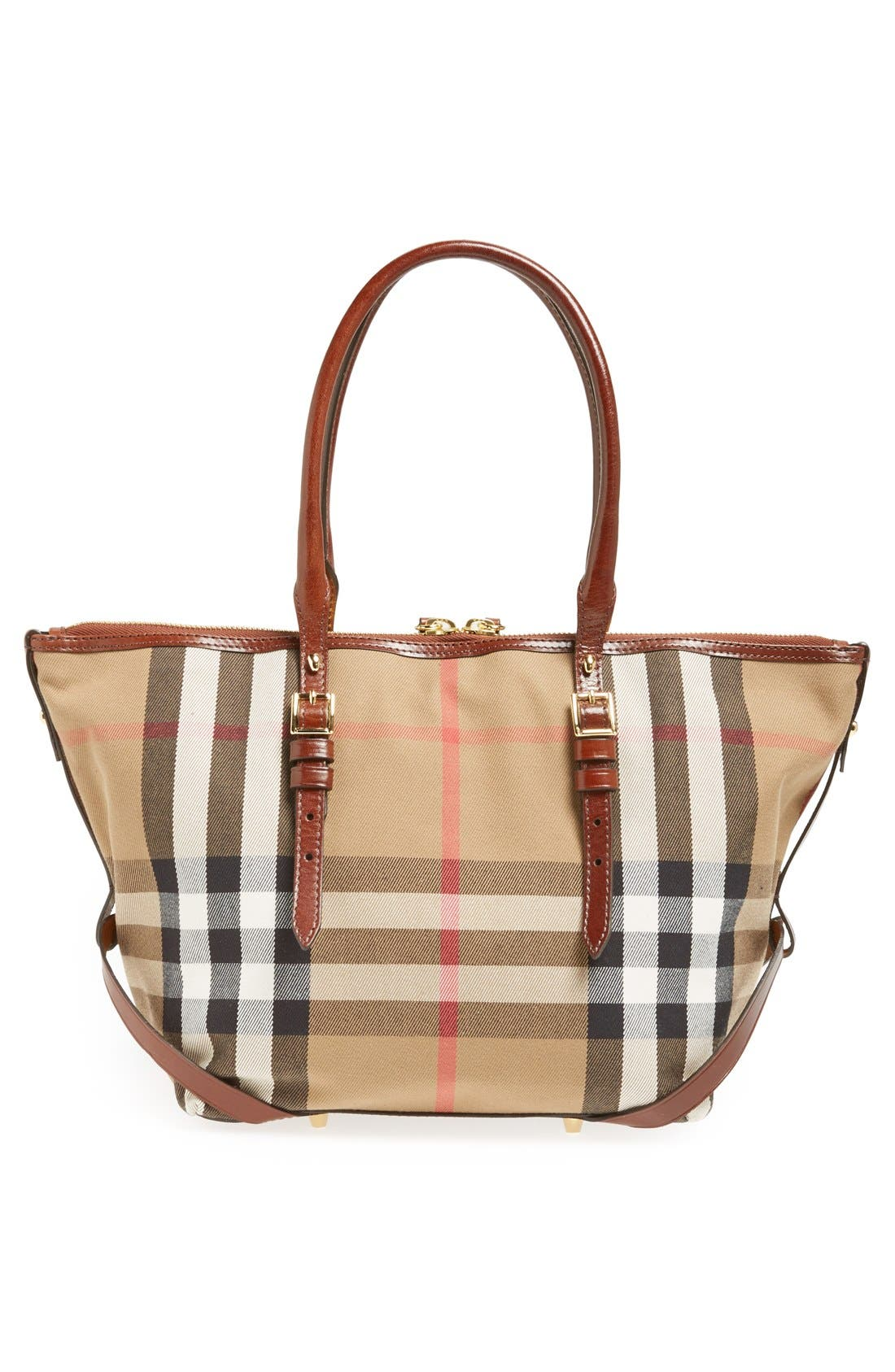 Alternate Image 4  - Burberry 'House Check – Small' Tote