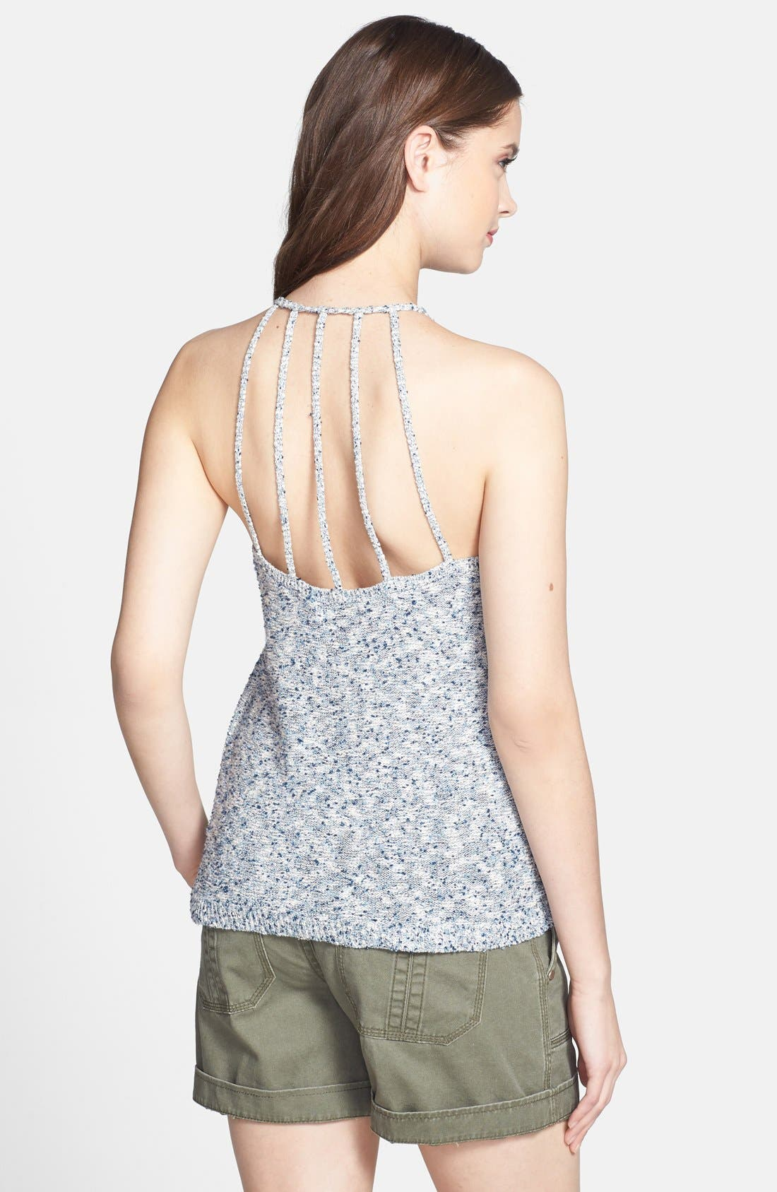 Alternate Image 2  - Lucky Brand Space Dyed Sweater Tank