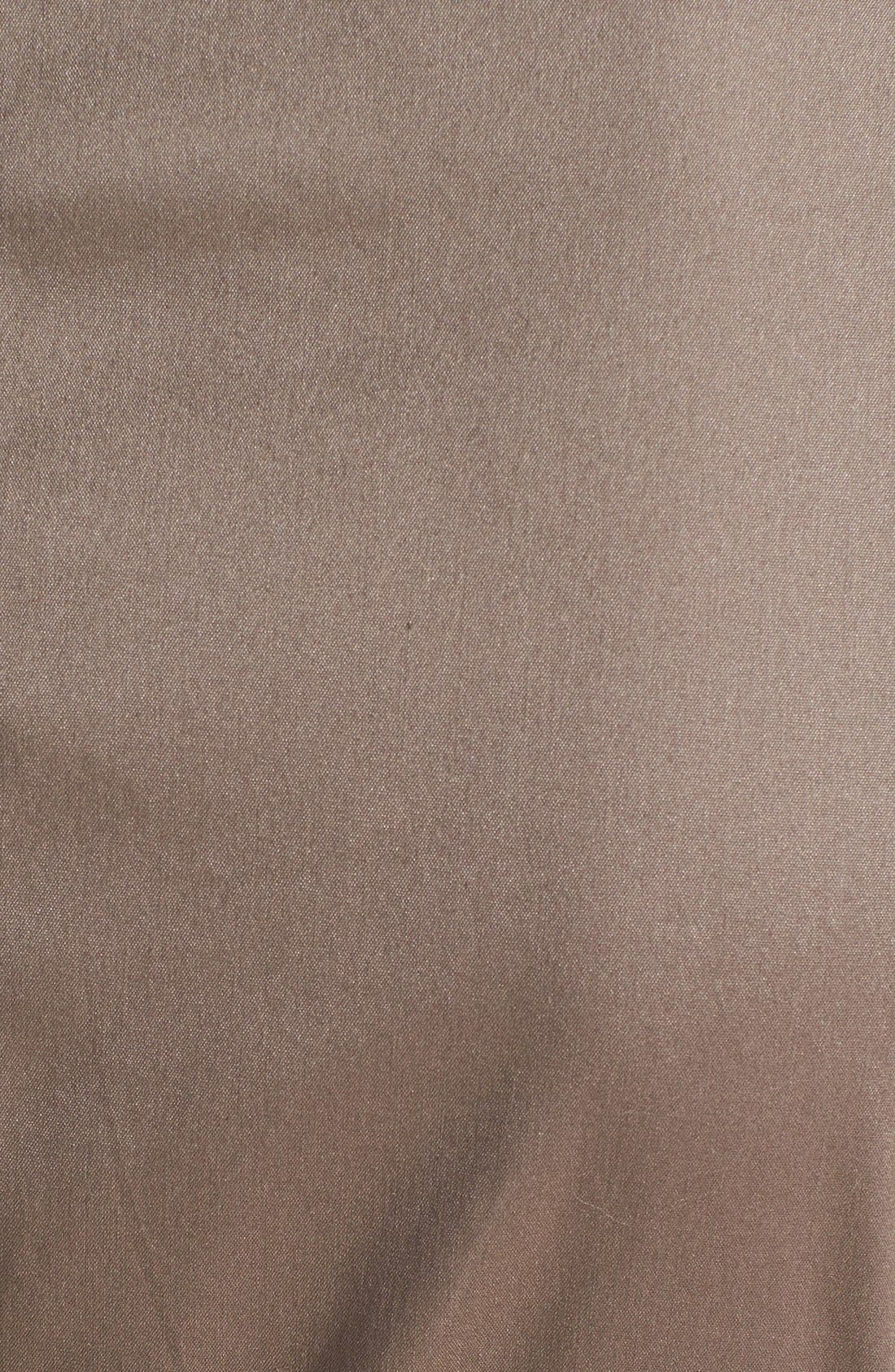 Alternate Image 4  - Vince Camuto Zip Front Cotton Blend Sheath Dress