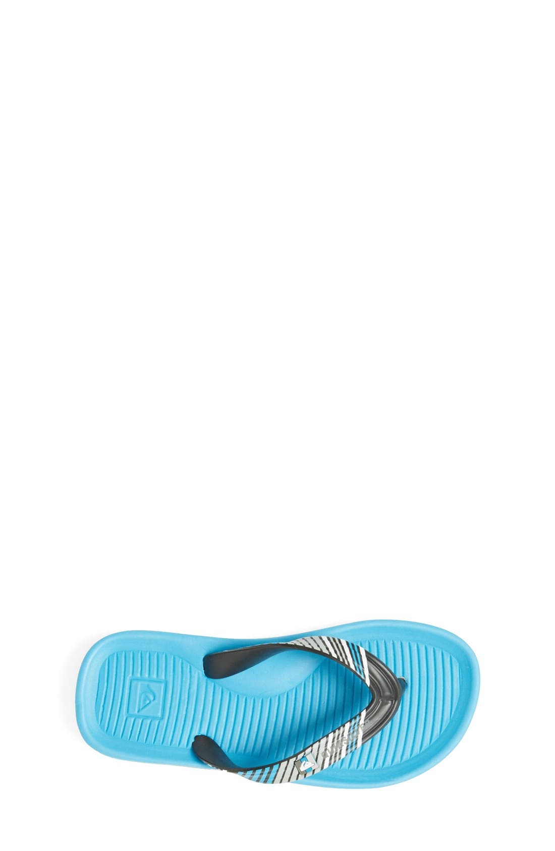 Alternate Image 3  - Quiksilver 'Haleiwa' Flip Flop (Toddler, Little Kid & Big Kid)