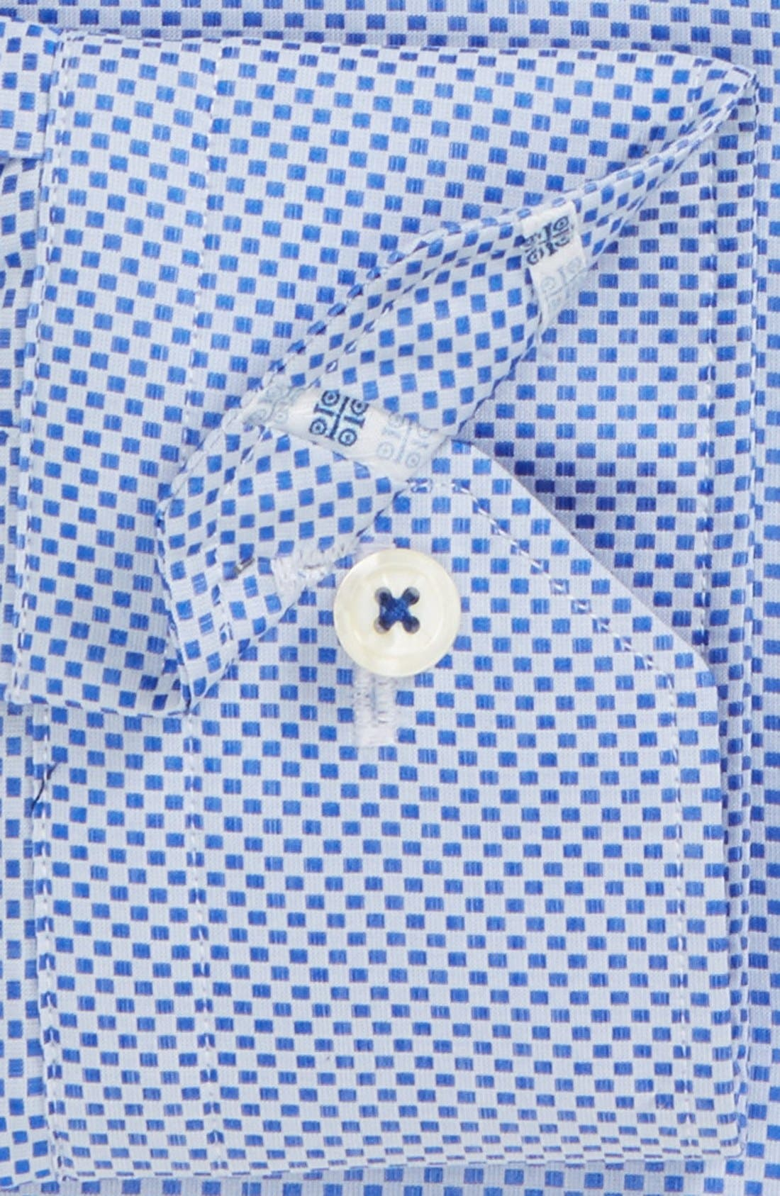 Alternate Image 2  - Robert Graham 'Bologna' Tailored Fit Dot Dress Shirt