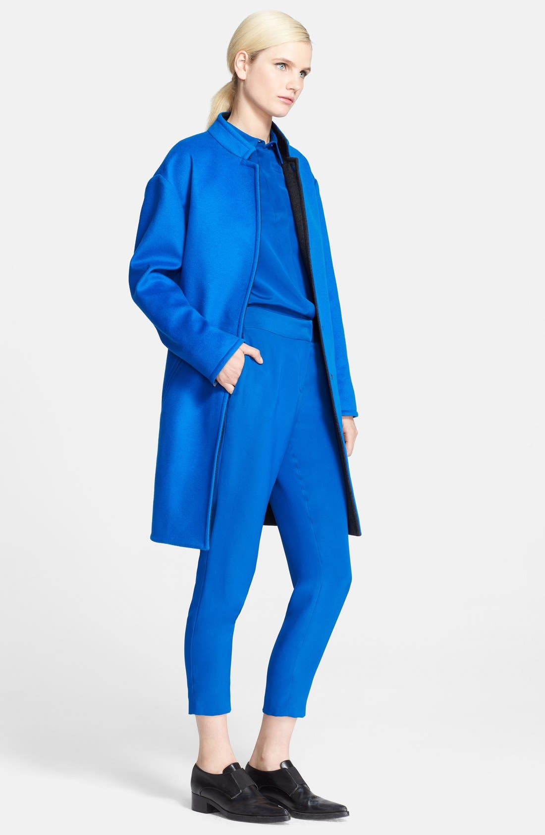 Alternate Image 1 Selected - Cédric Charlier Wool & Cashmere Coat