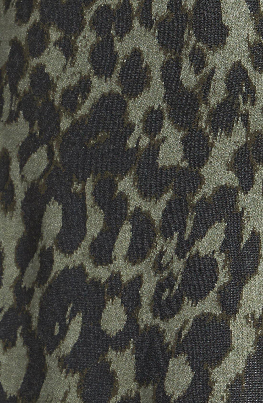 Alternate Image 3  - NIC+ZOE Print Knit Skirt