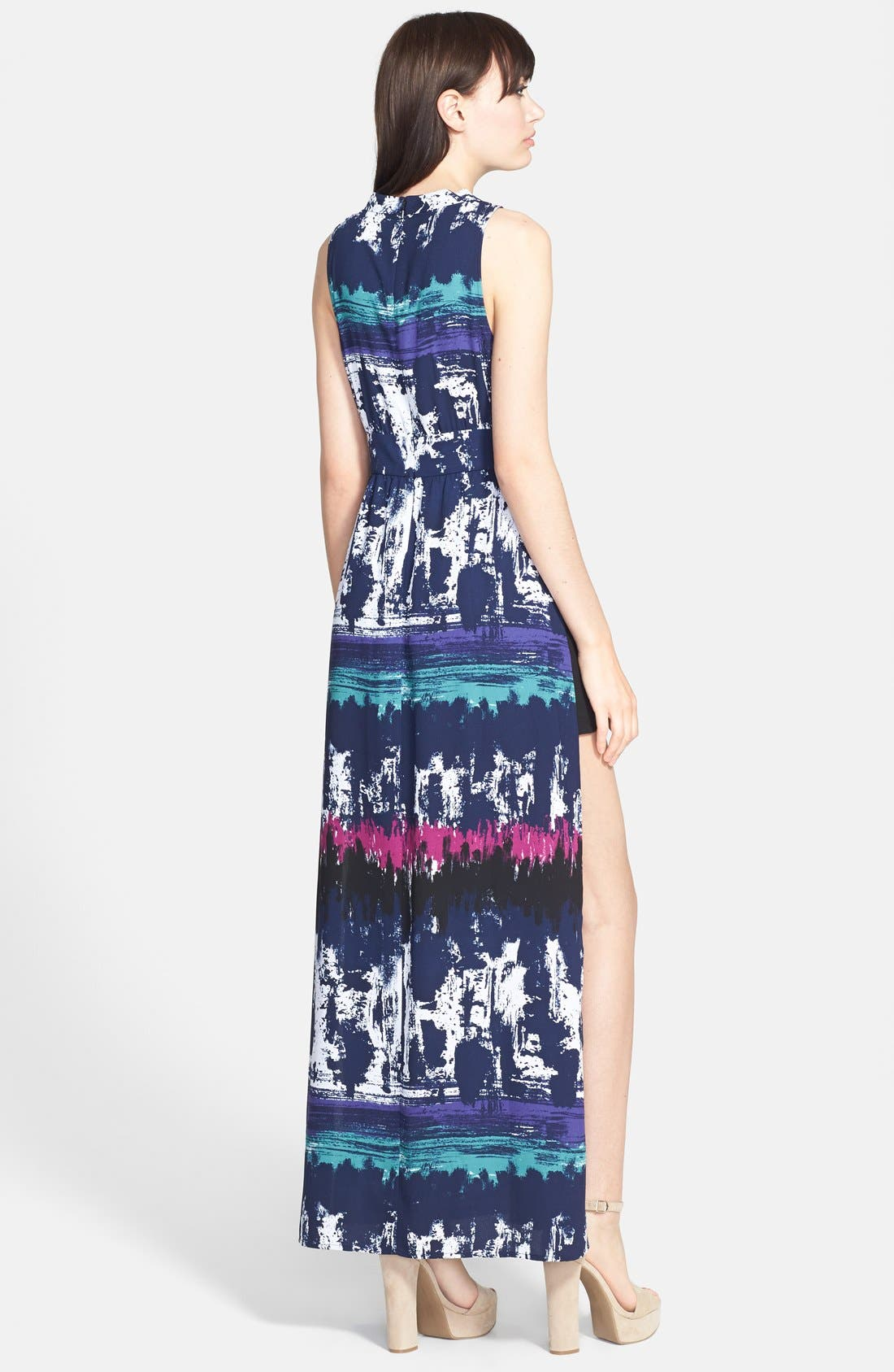 Alternate Image 2  - Leith Side Slit Maxi Dress