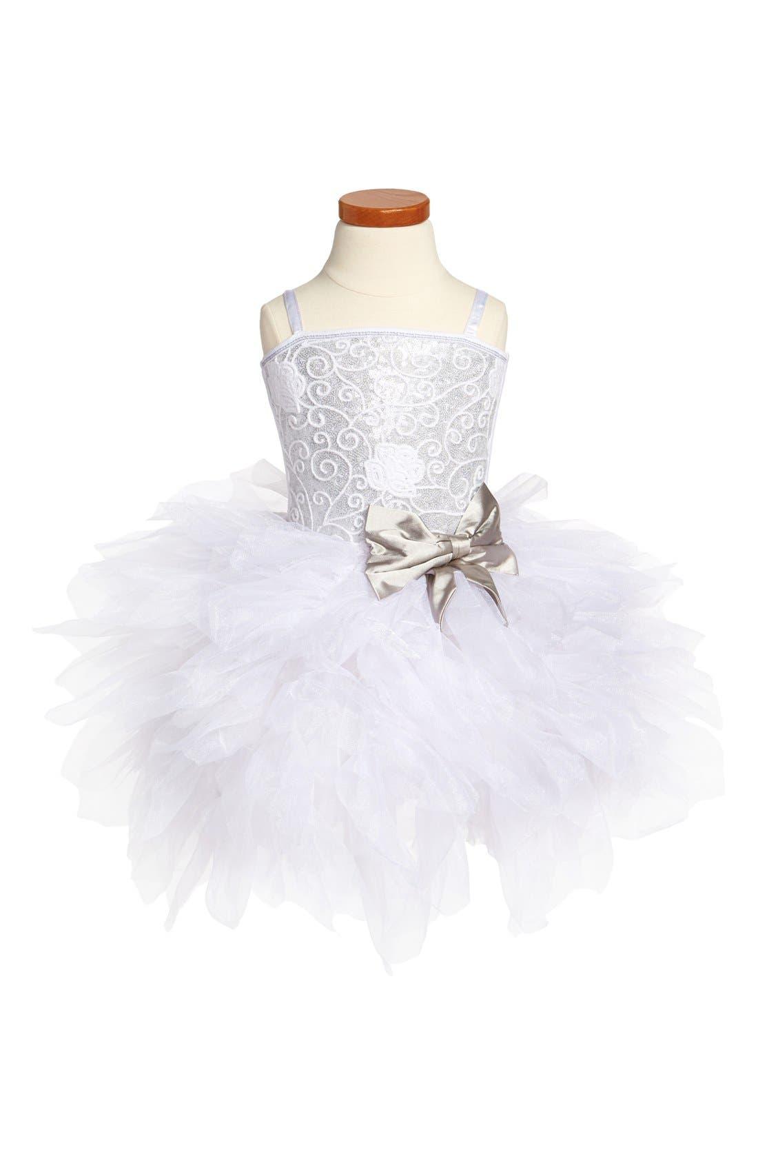 Alternate Image 1 Selected - Ooh! La, La! Couture 'Emma' Dress (Little Girls & Big Girls)