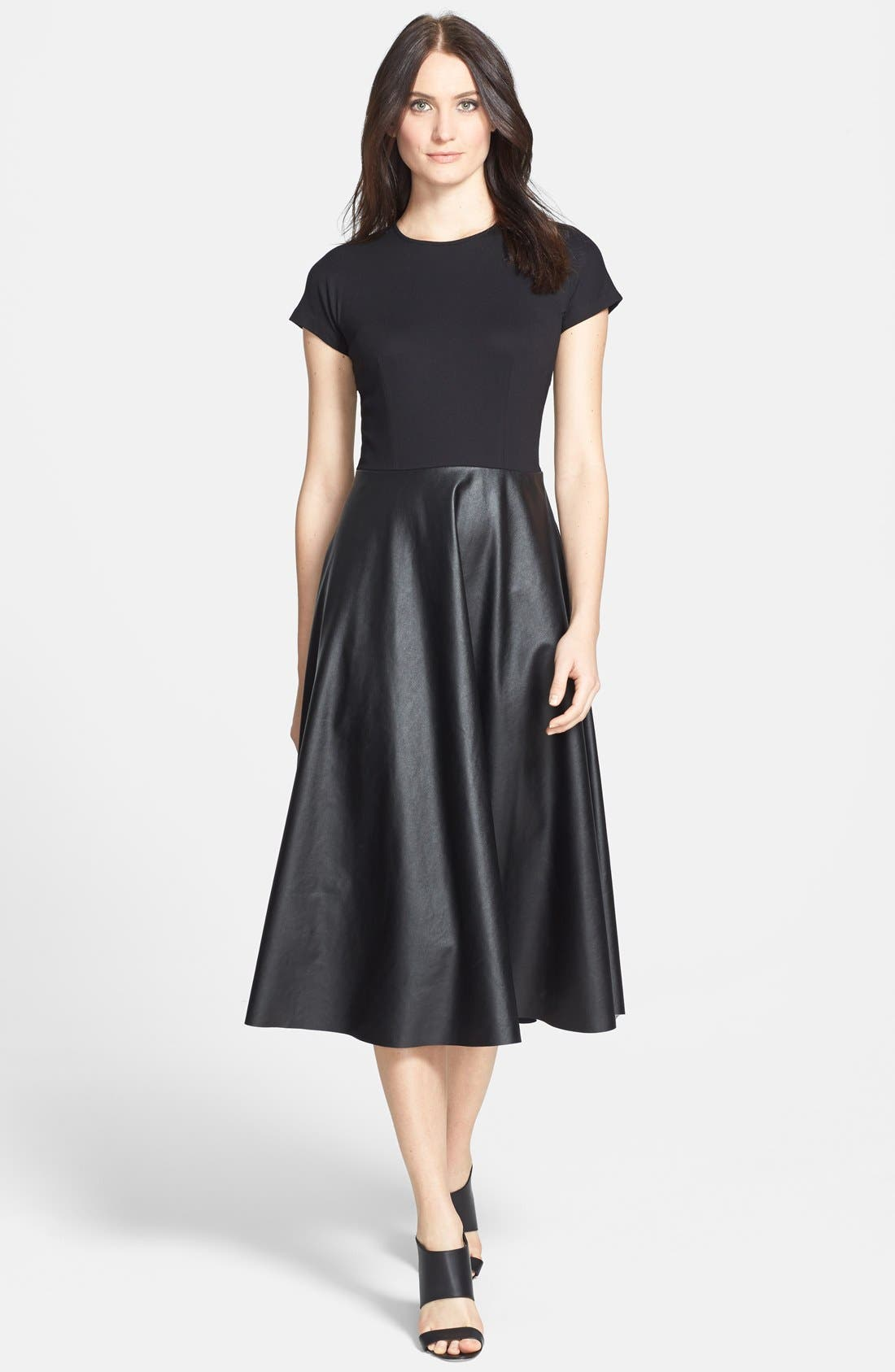 Alternate Image 1 Selected - Lafayette 148 New York 'Mirna - Neo Tech' Dress