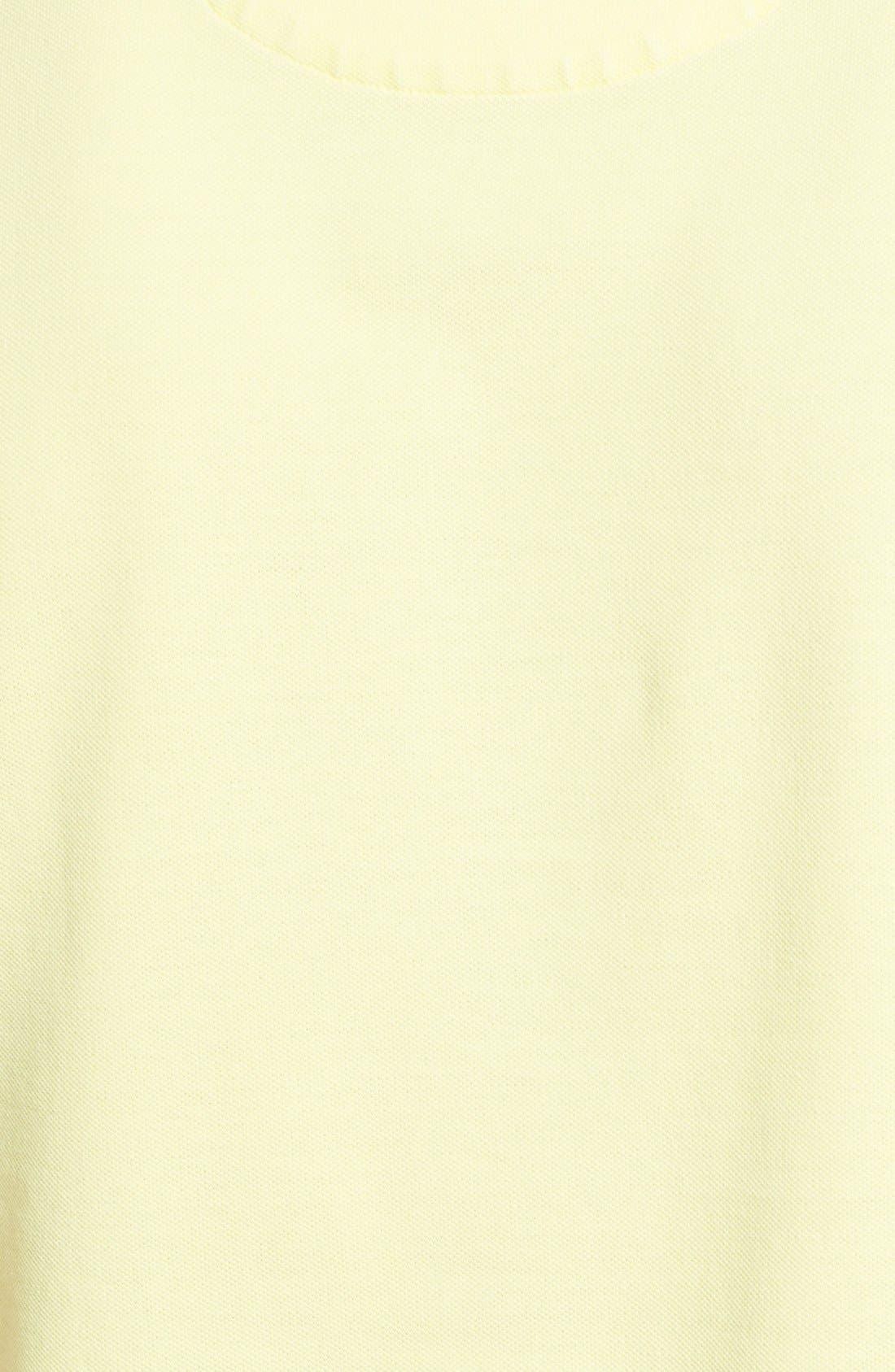 Alternate Image 3  - Lacoste Garment Dyed Piqué Polo