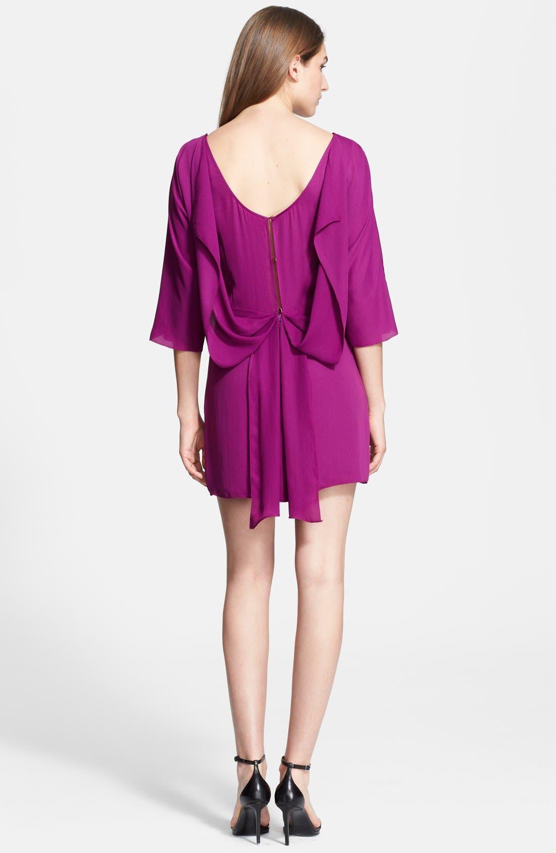 Alternate Image 2  - Halston Heritage Georgette Blouson Dress
