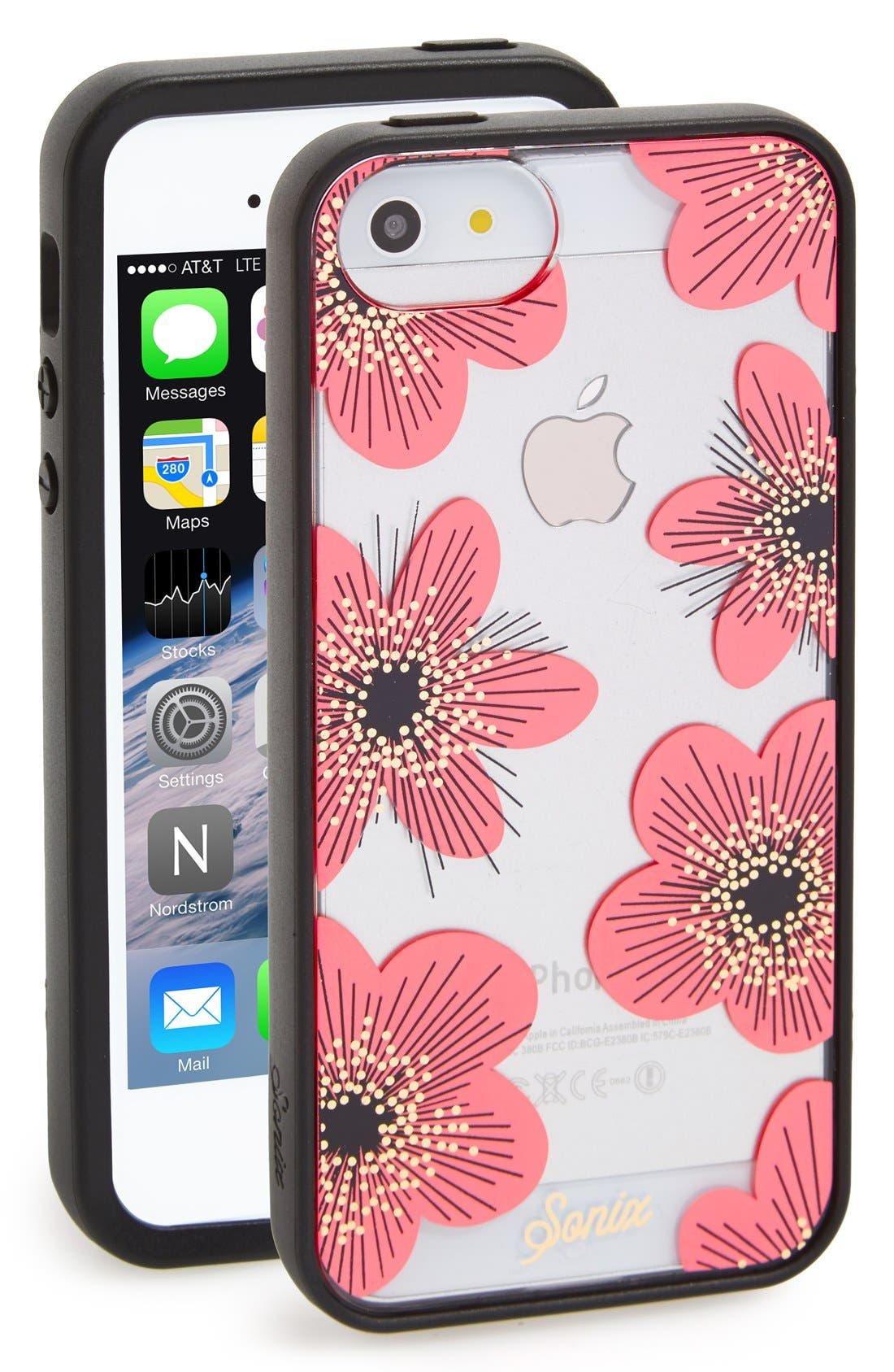 sonix iphone 5 case sonix delphine clear iphone 5 amp 5s nordstrom 16161