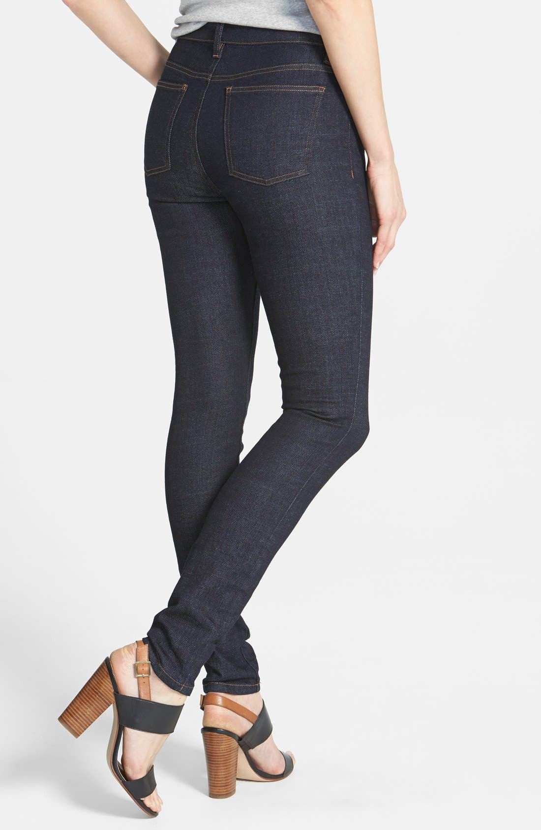 Alternate Image 2  - Eileen Fisher The Fisher Project Organic Cotton Denim Skinny Jeans