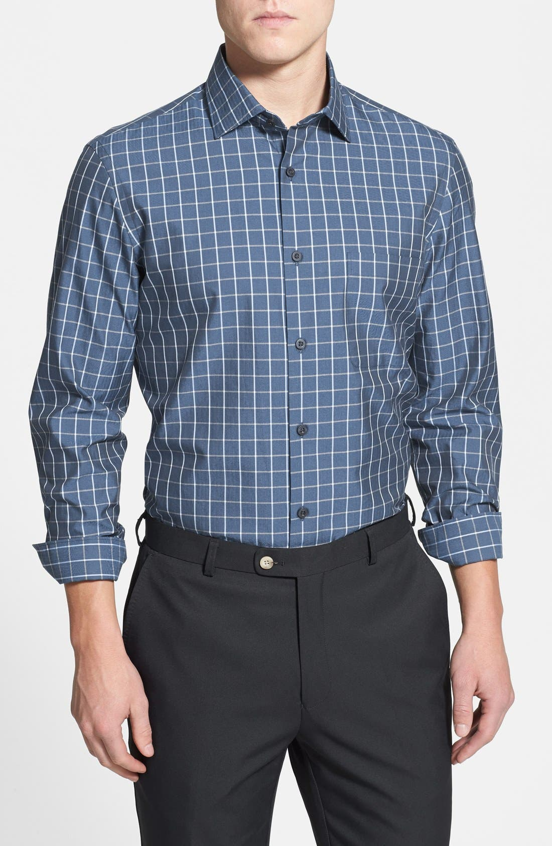 Main Image - John W. Nordstrom® Regular Fit Supima® Cotton Sport Shirt