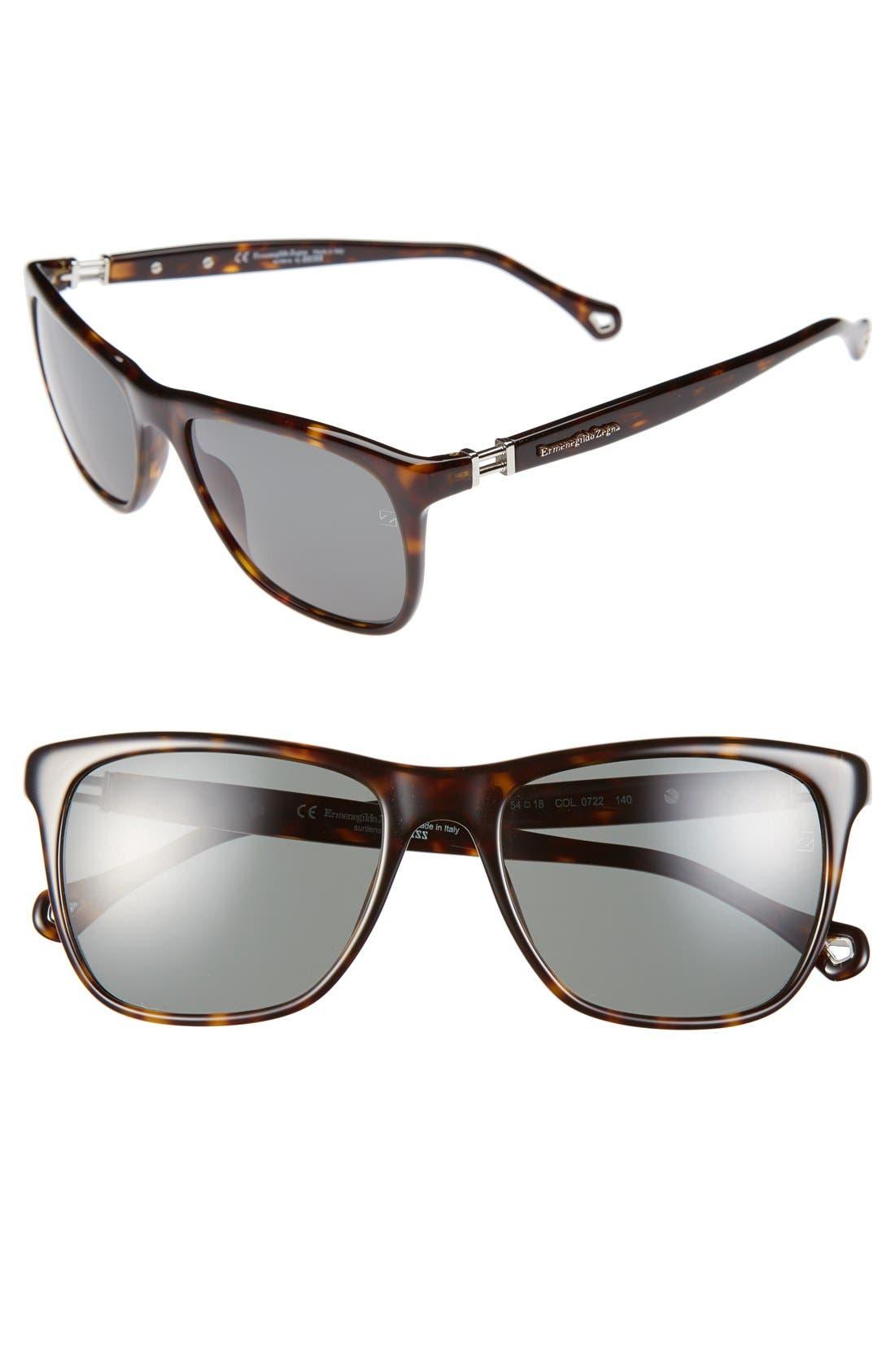 Main Image - Ermenegildo Zegna 54mm Sunglasses