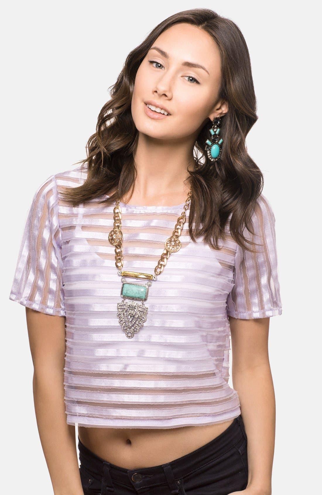 Alternate Image 3  - BaubleBar 'Inca Priestess' Pendant Necklace