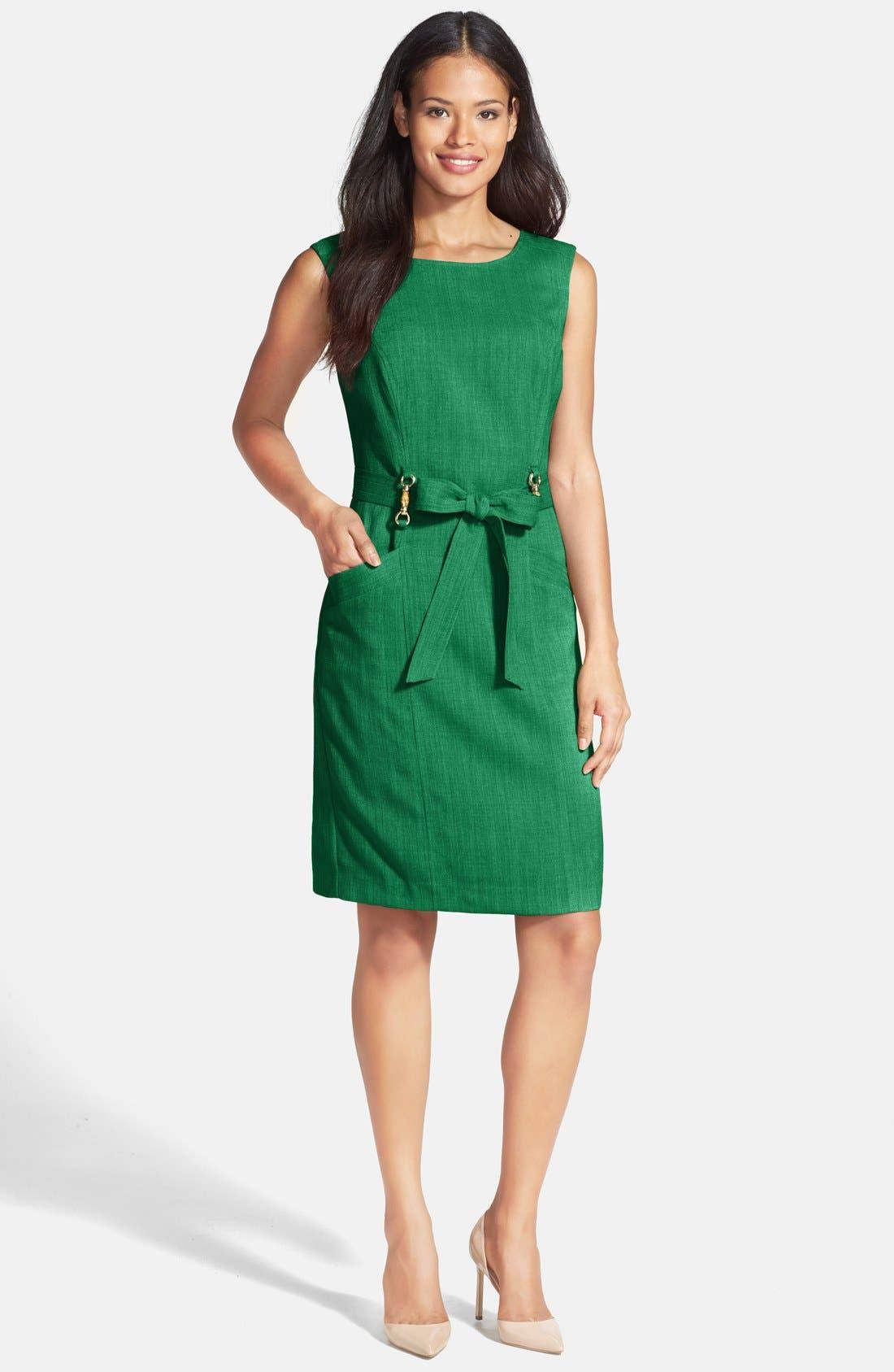 Alternate Image 3  - Ellen Tracy 'Kenya' Sleeveless Dress