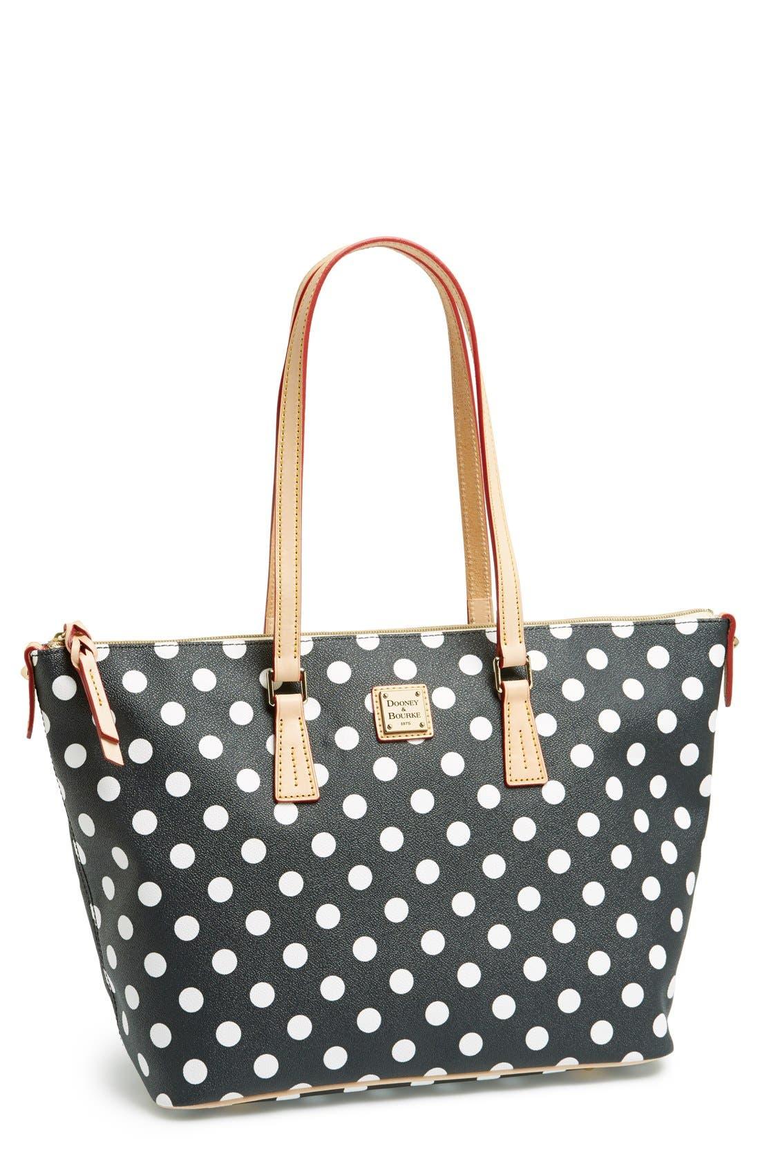Main Image - Dooney & Bourke Polka Dot Shopper