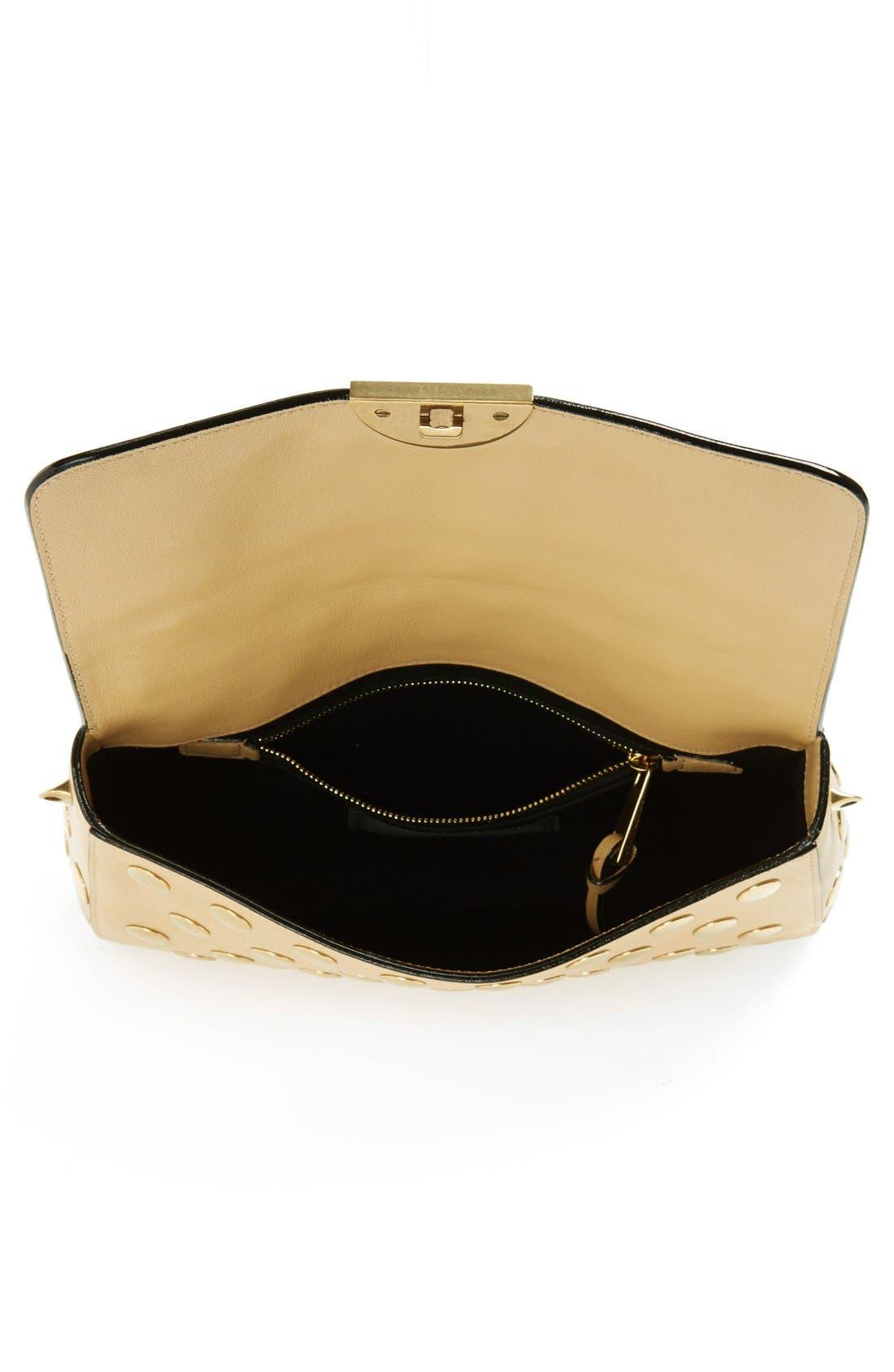 Alternate Image 3  - Marc Jacobs 'Small Gotham' Flat Stud Leather Shoulder Bag