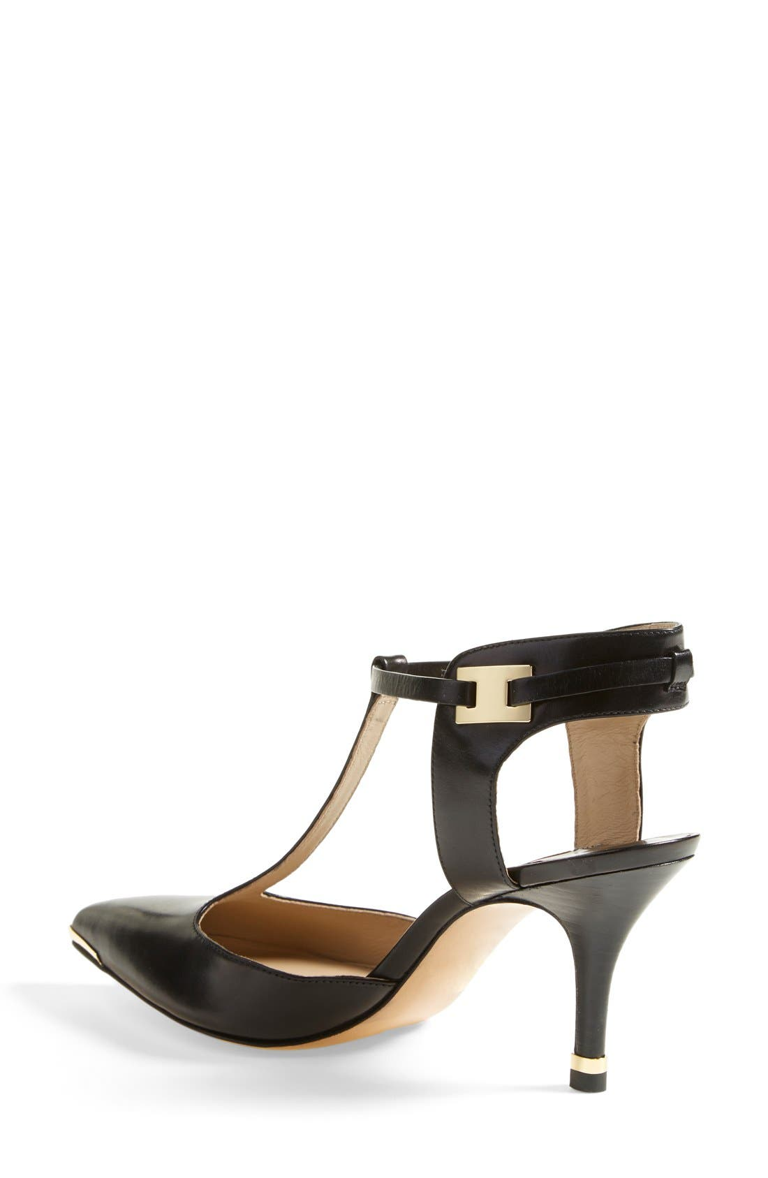 Alternate Image 2  - Michael Kors 'Silvia' T-Strap Pump (Women)