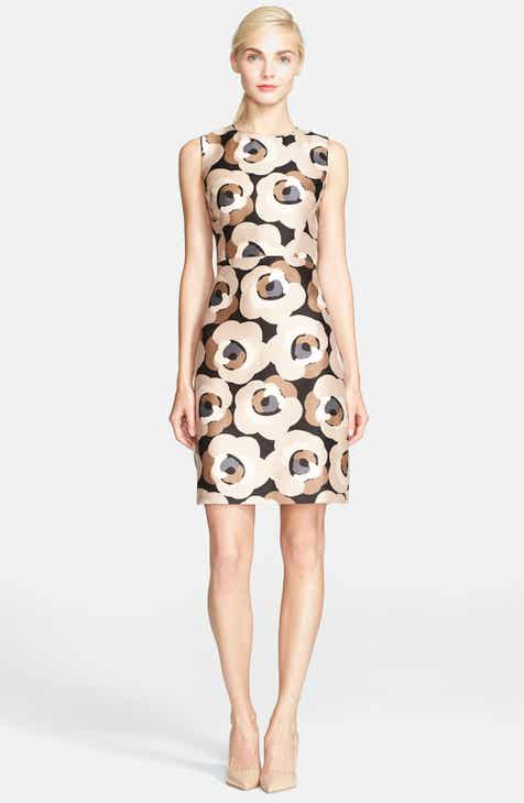 kate spade new york 'della - deco rose' print sheath dress by KATE SPADE NEW YORK