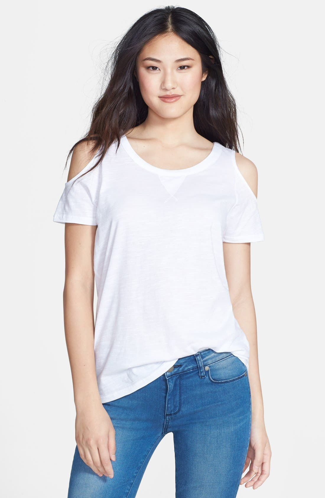 Alternate Image 1 Selected - Two by Vince Camuto Cold Shoulder Top