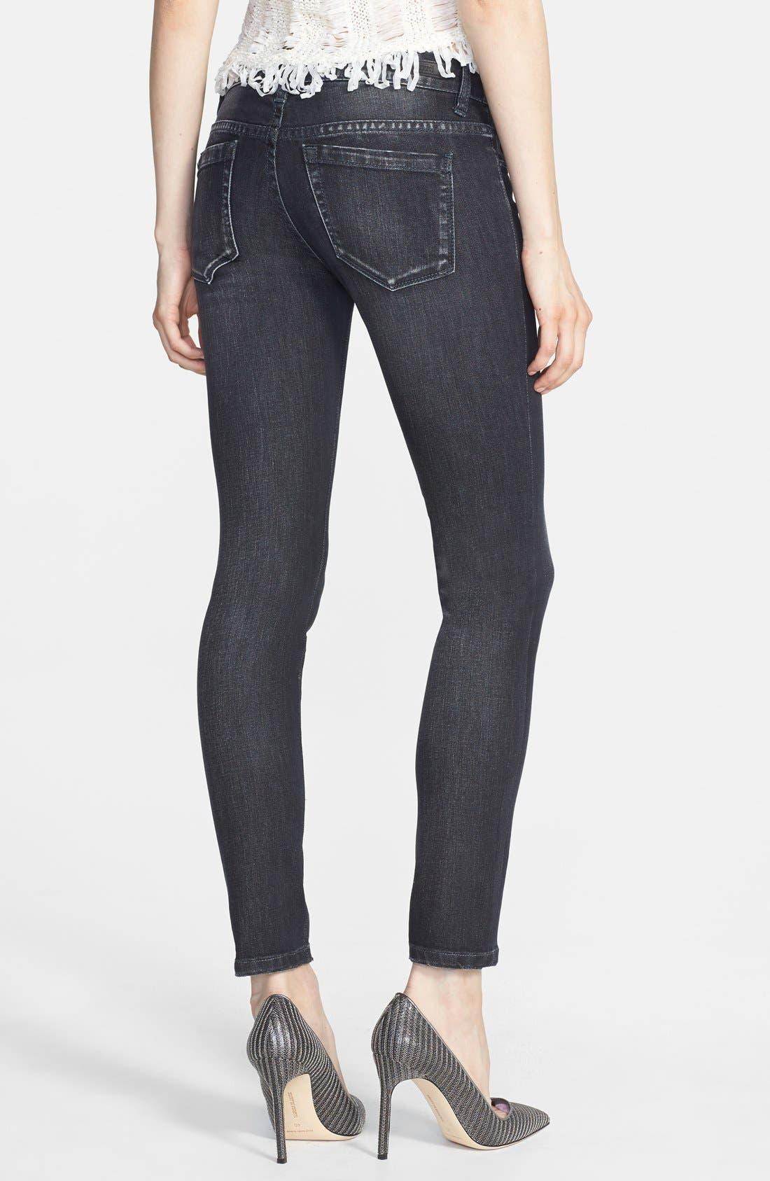 Alternate Image 2  - BLANKNYC Skinny Jeans (Grey Area Anatomy)