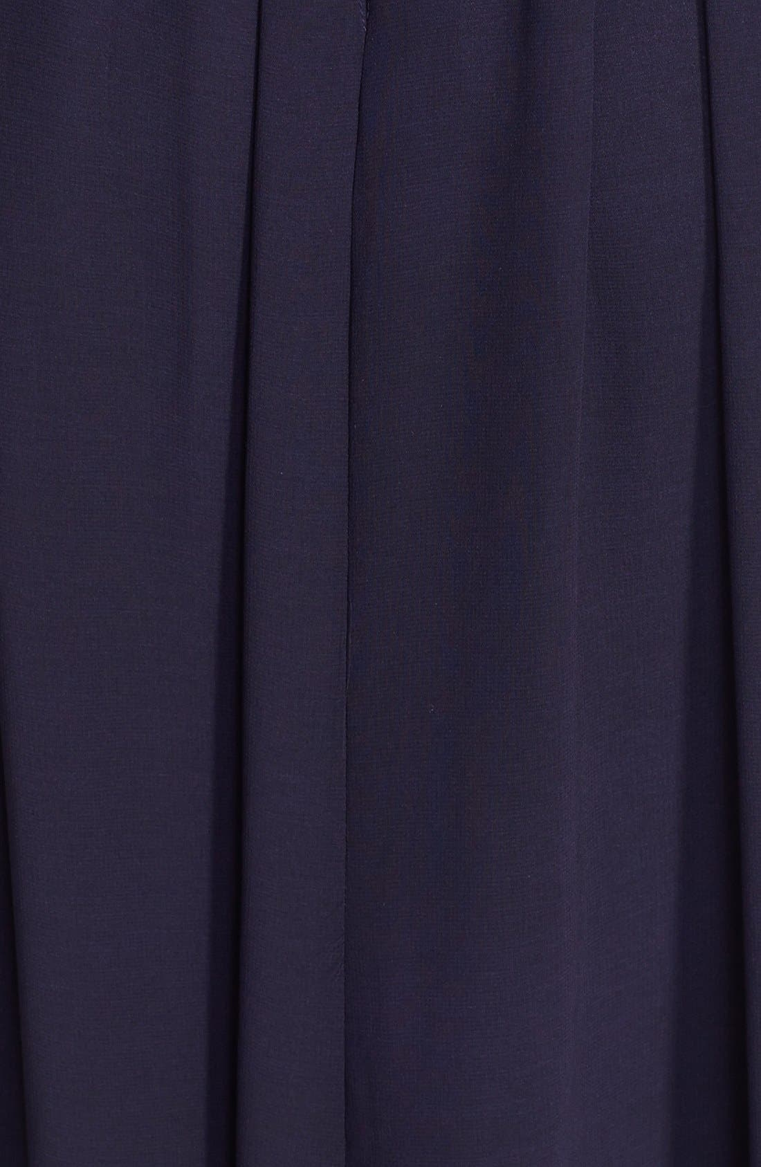 Alternate Image 3  - ERIN erin fetherston 'Isabelle' Print Strapless Gown