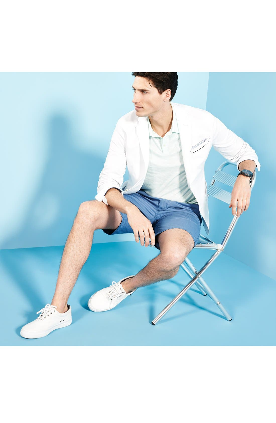 Alternate Image 5  - John Varvatos Star USA 'Triple Needle' Shorts