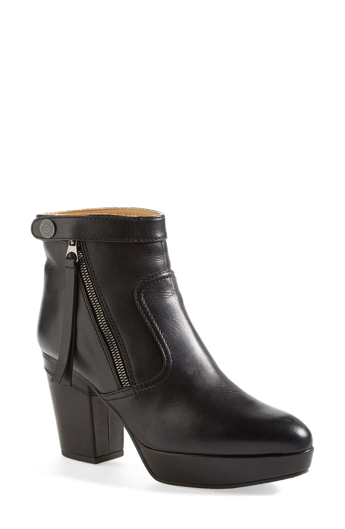 Alternate Image 1 Selected - Acne Studios 'Track' Platform Ankle Boot (Women)