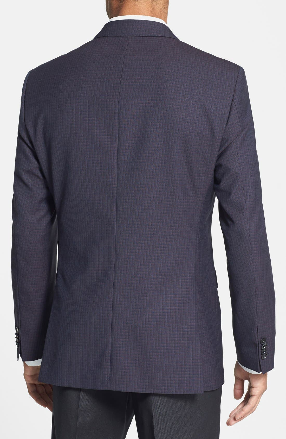 Alternate Image 2  - BOSS HUGO BOSS 'James' Trim Fit Check Sport Coat