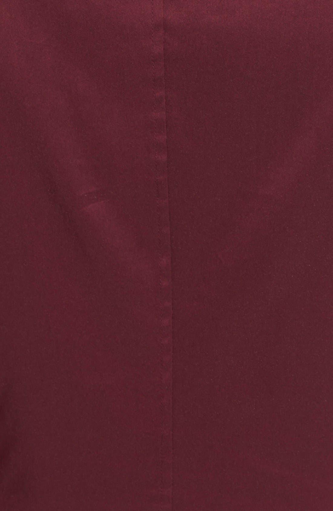 Alternate Image 3  - BOSS 'Bashina' Fitted Cotton Blend V-Neck Blouse