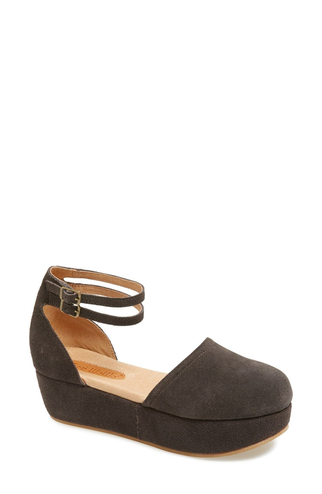 Alternate Image 1 Selected - Gee WaWa 'Peyton' Platform Wedge (Women)