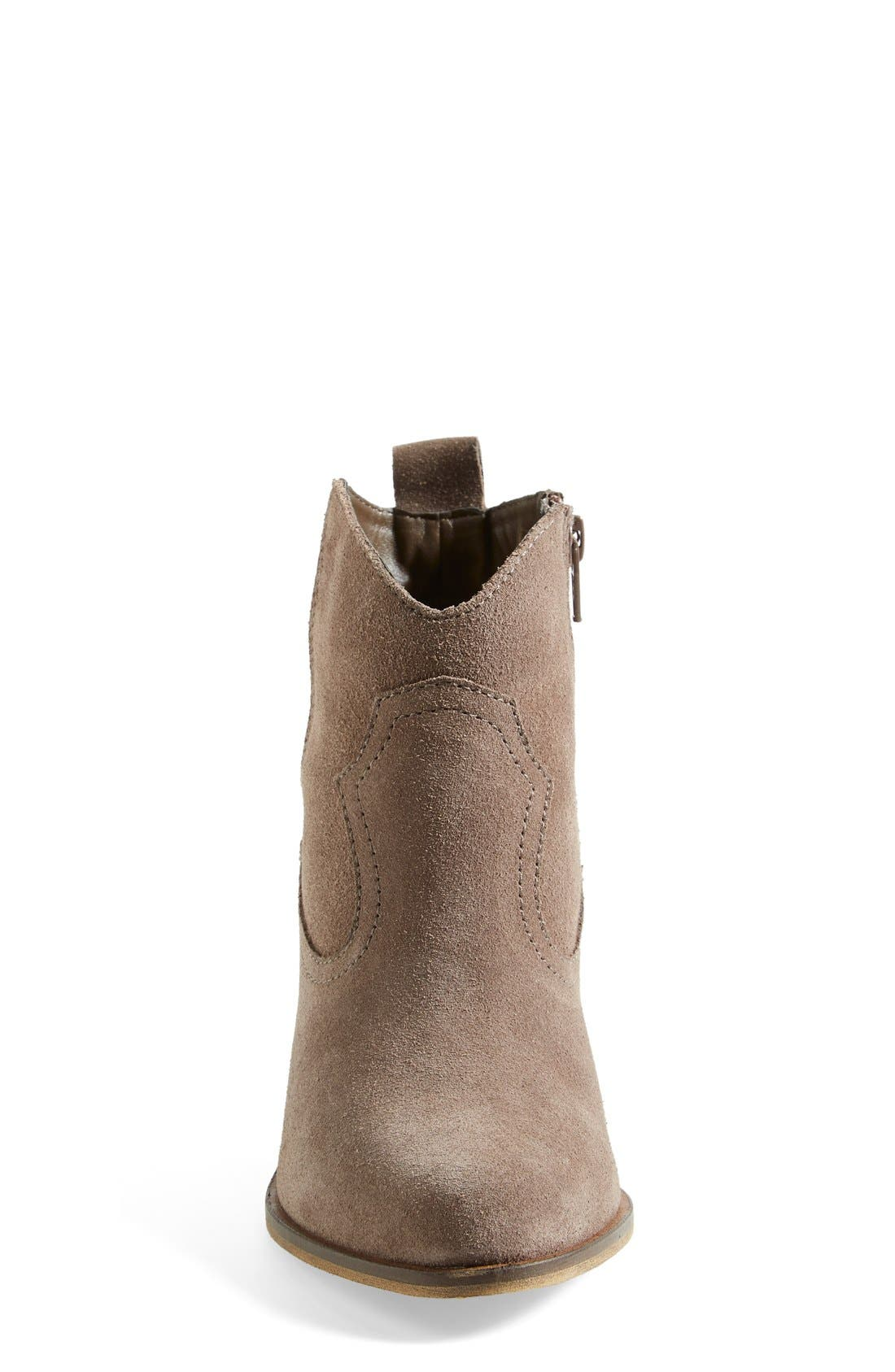 'Plover' Bootie,                             Alternate thumbnail 3, color,                             Taupe