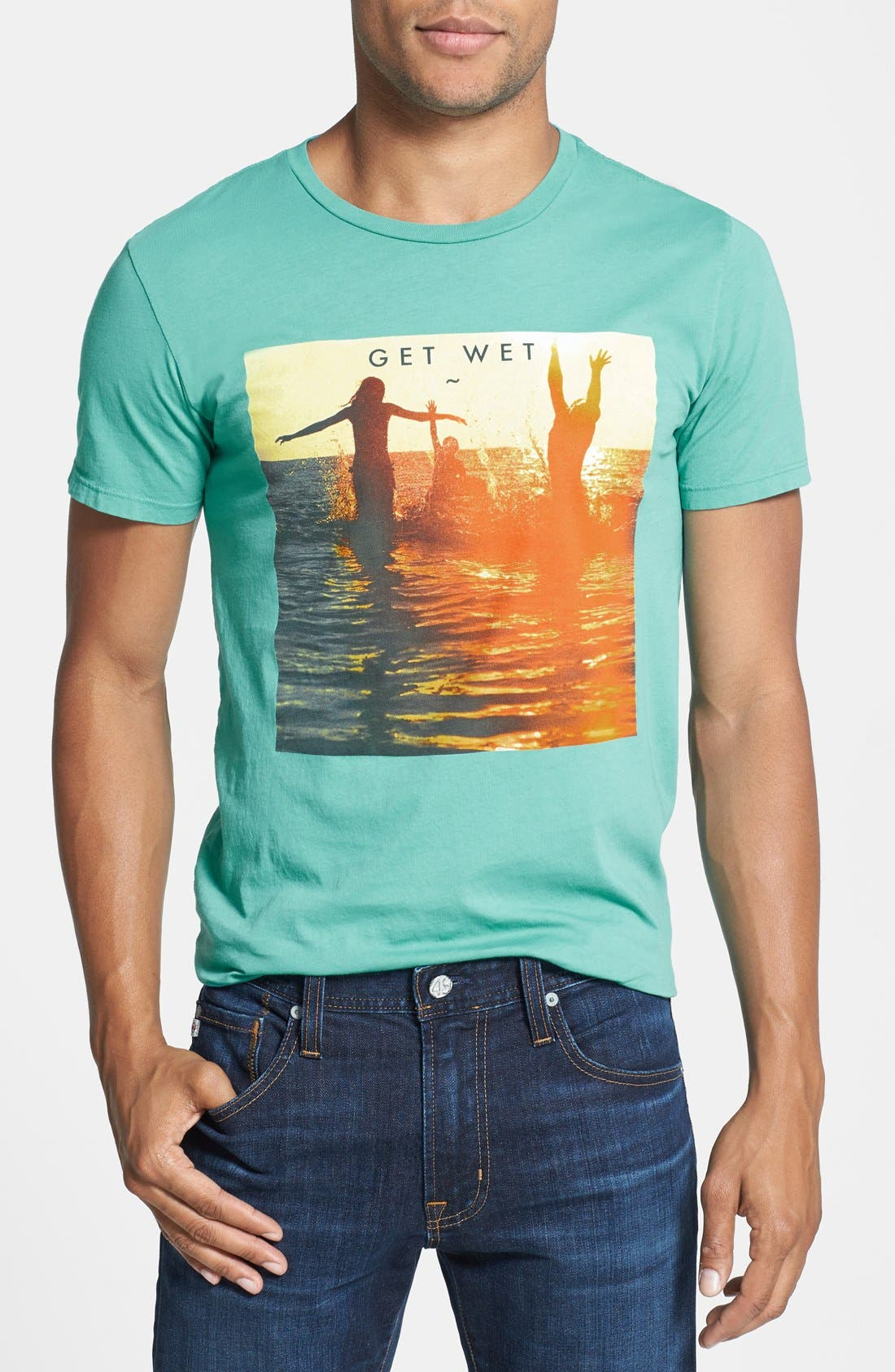 Alternate Image 1 Selected - Altru 'Get Wet' Graphic T-Shirt