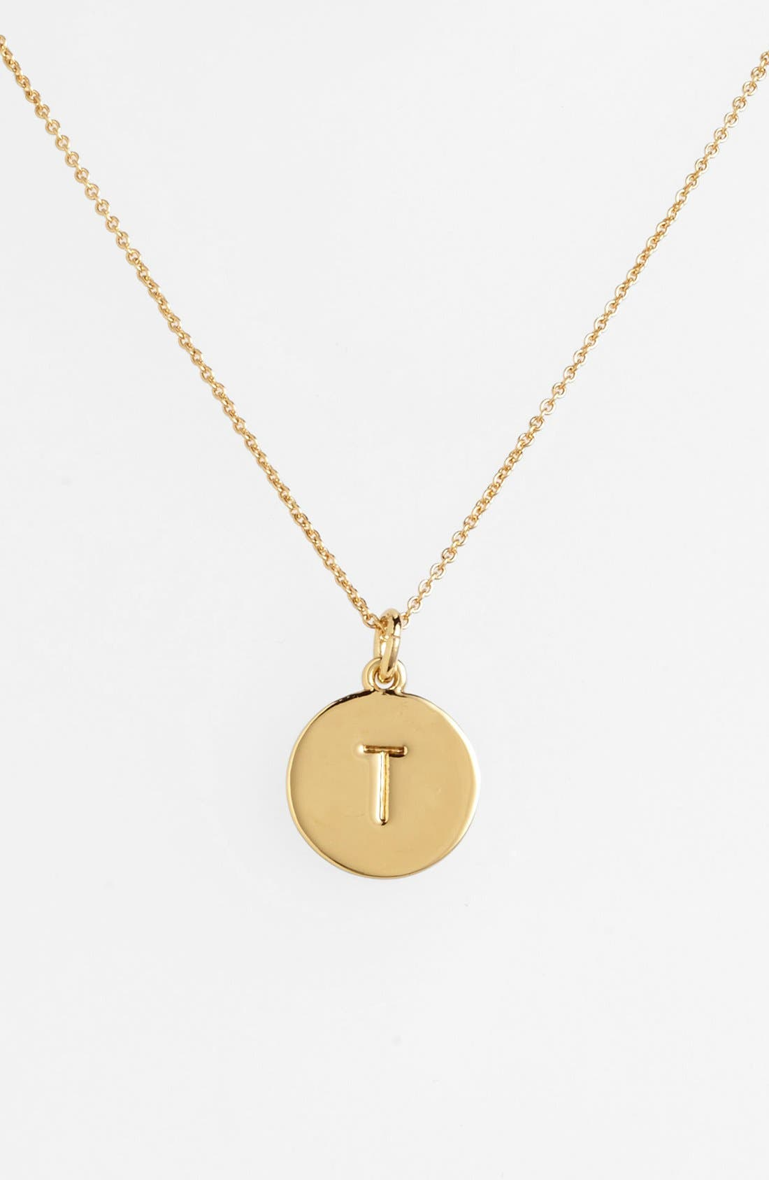 Alternate Image 1 Selected - kate spade new york 'one in a million' initial pendant necklace
