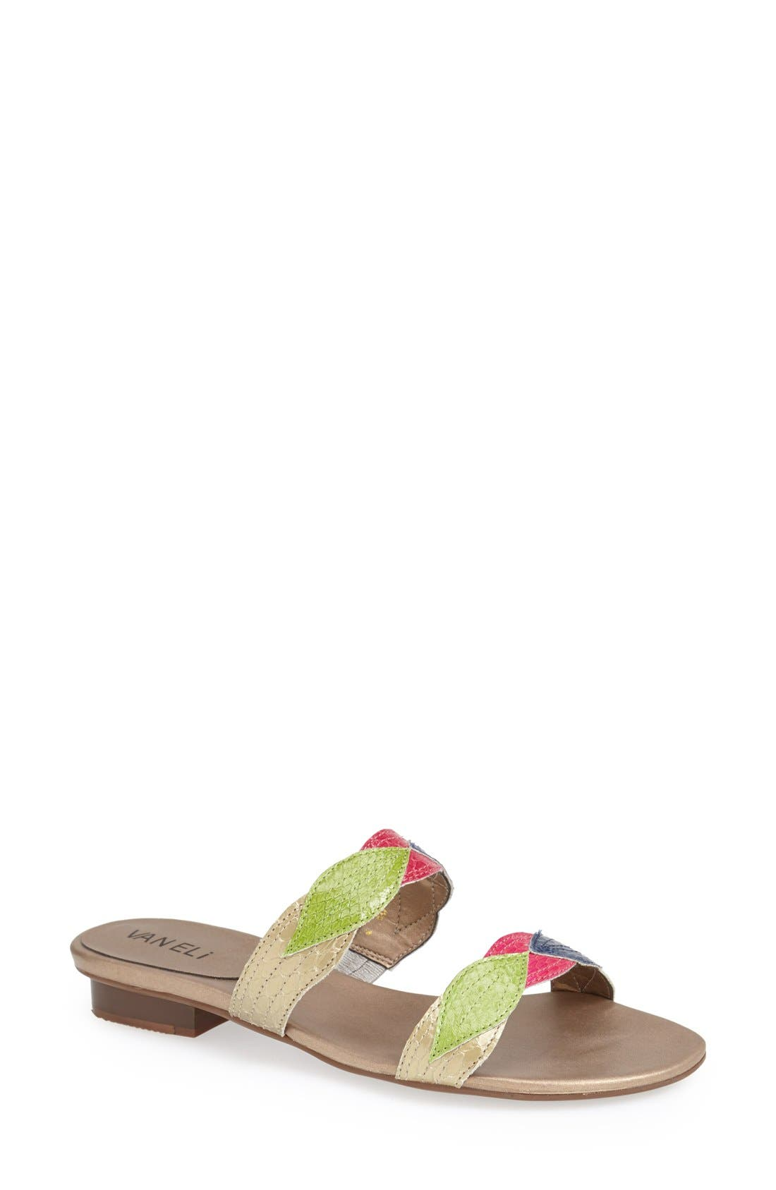 Alternate Image 1 Selected - VANELi 'Blim' Slide Sandal (Women) (Special Purchase)