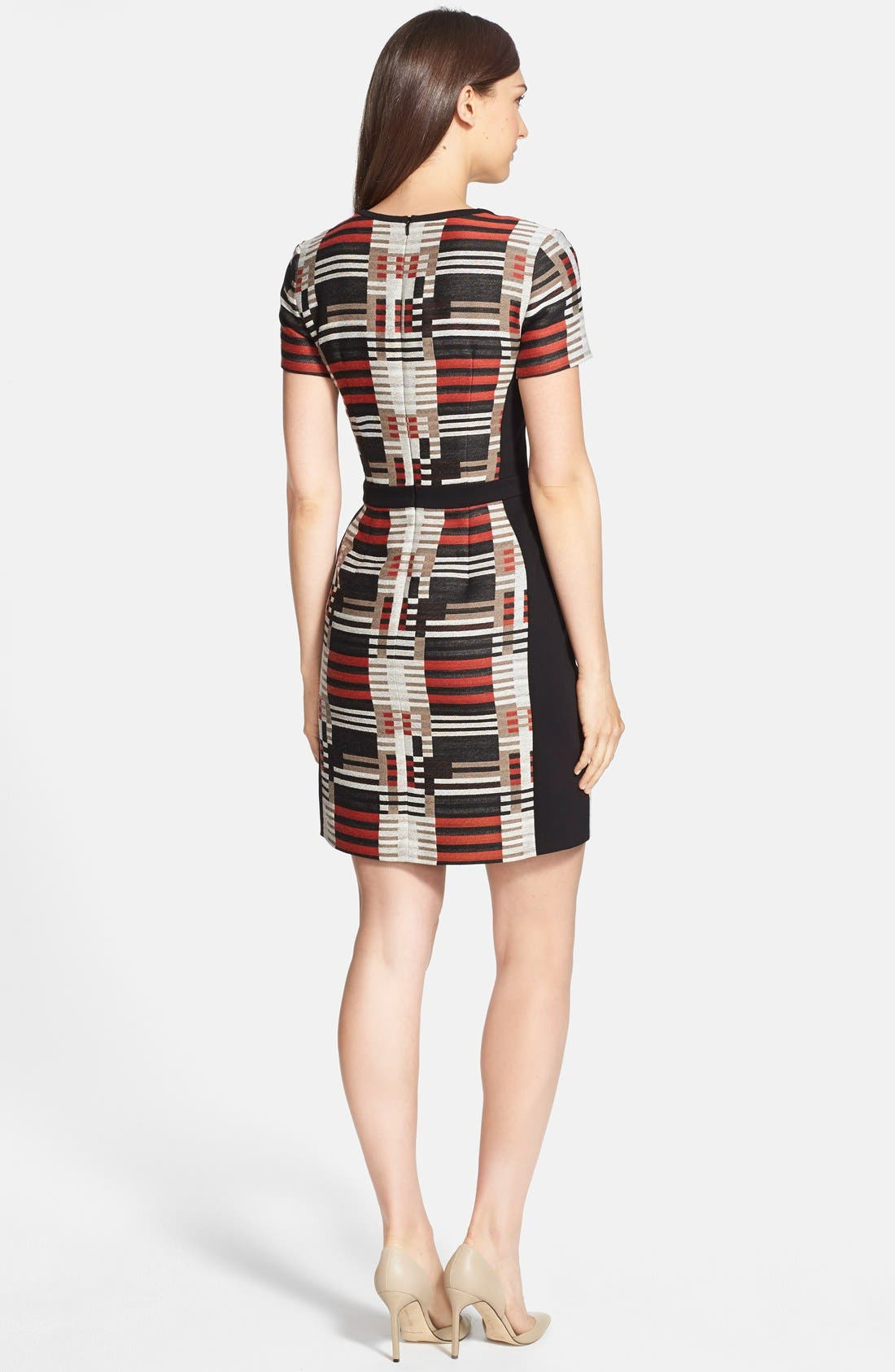 Alternate Image 2  - BOSS 'Hesandra1' Tweed Pattern Sheath Dress