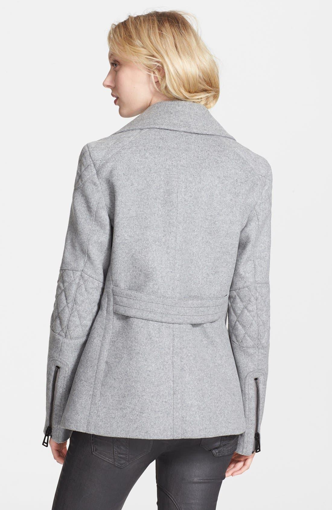 Alternate Image 2  - Belstaff 'Hawthorne' Double Breasted Wool & Cashmere Coat