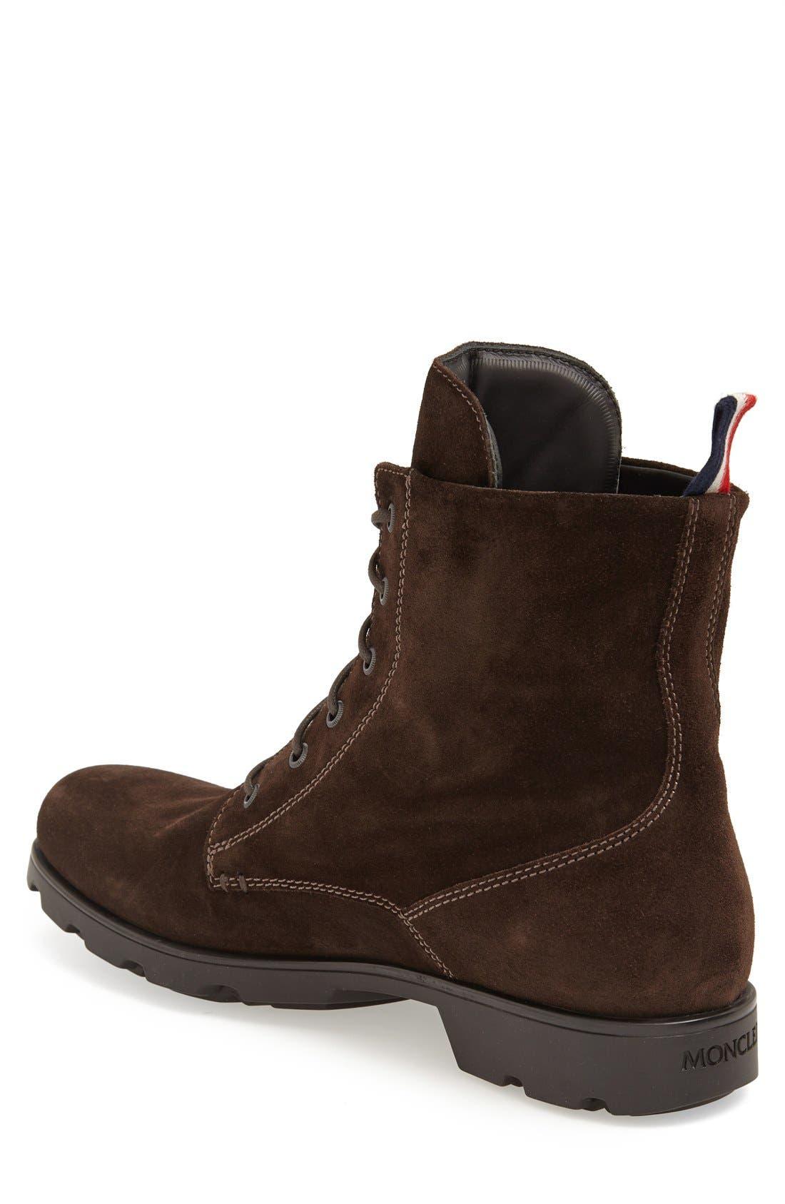 Alternate Image 2  - Moncler 'Vancouver' Plain Toe Boot (Men)