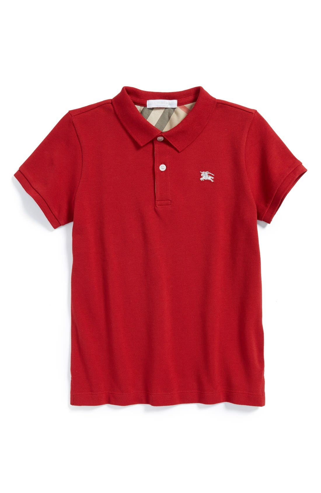 Burberry Piqué Polo (Little Boys & Big Boys)